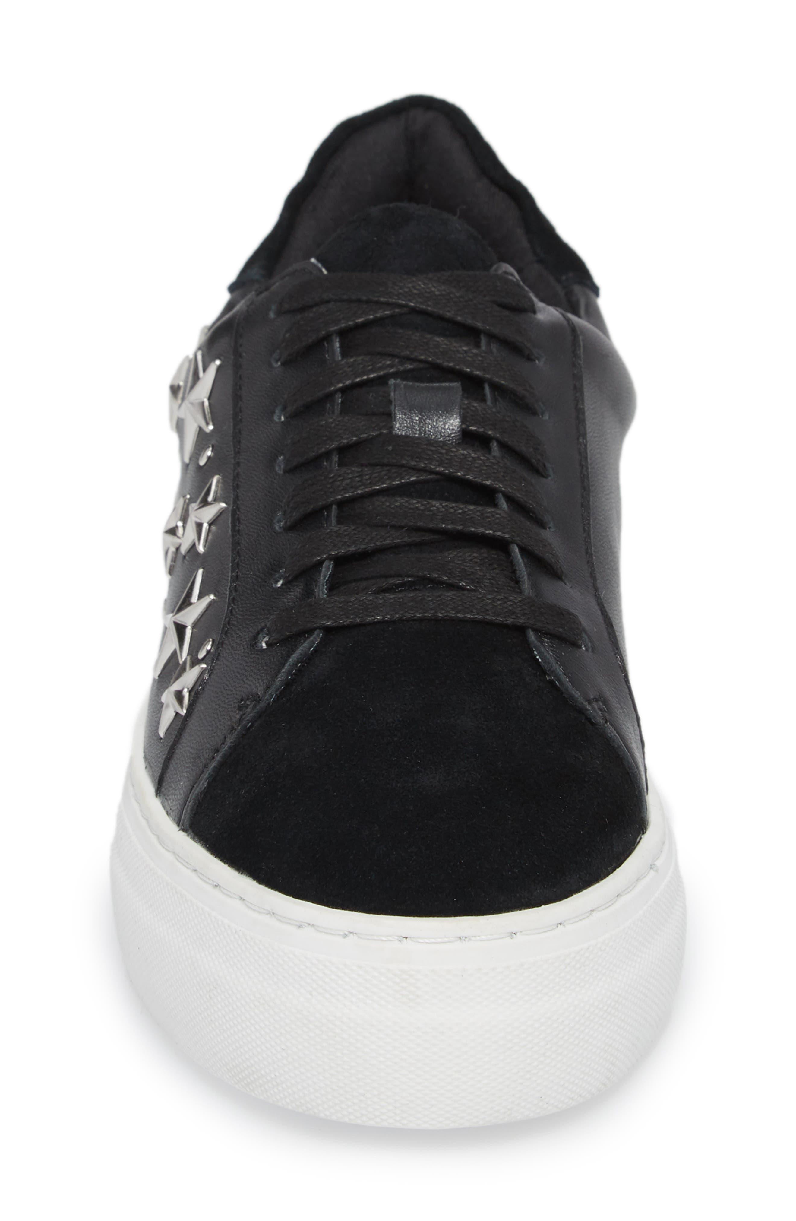 Active Star Platform Sneaker,                             Alternate thumbnail 4, color,                             001