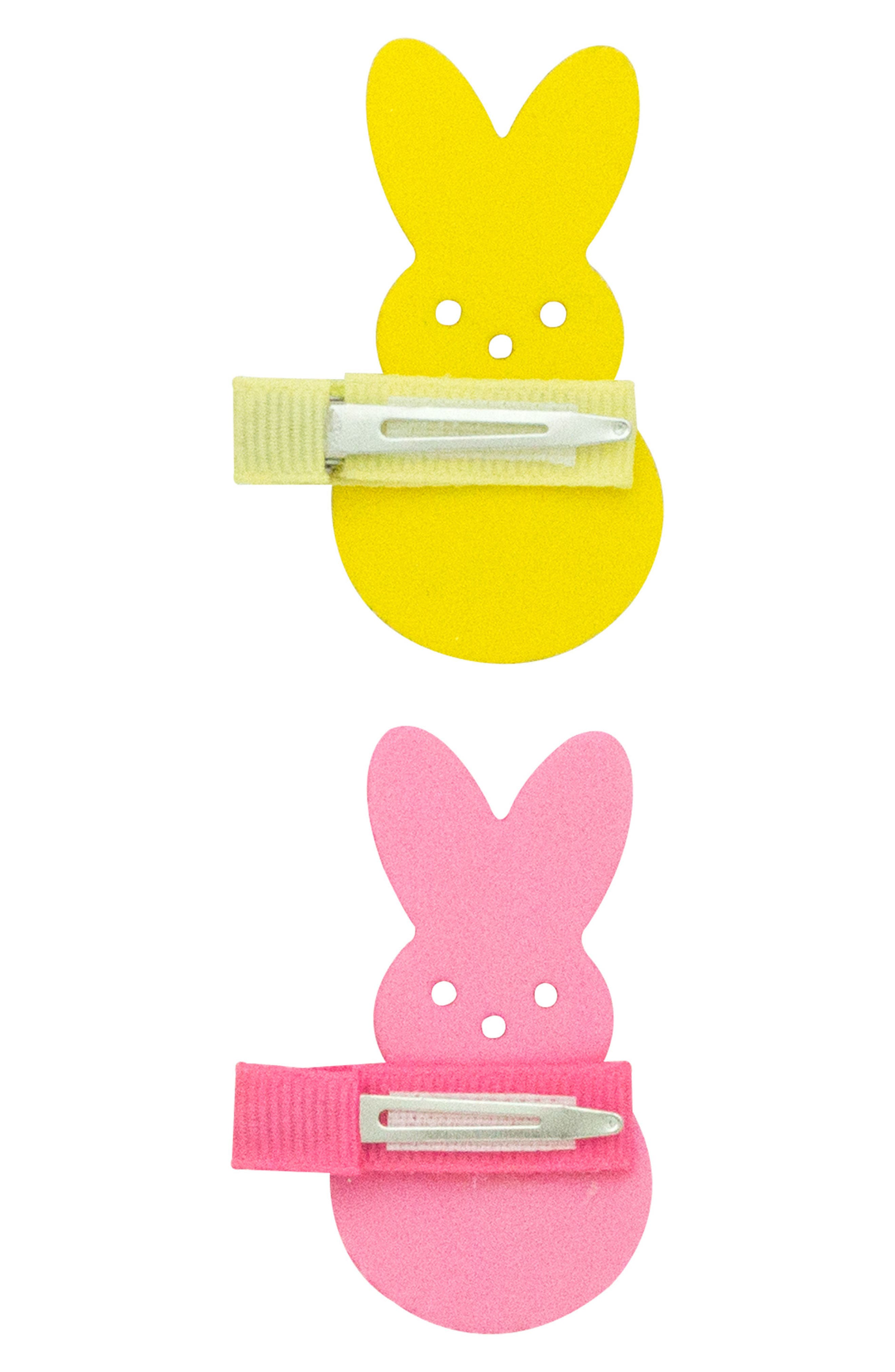 2-Pack Bunny Clips,                             Alternate thumbnail 4, color,