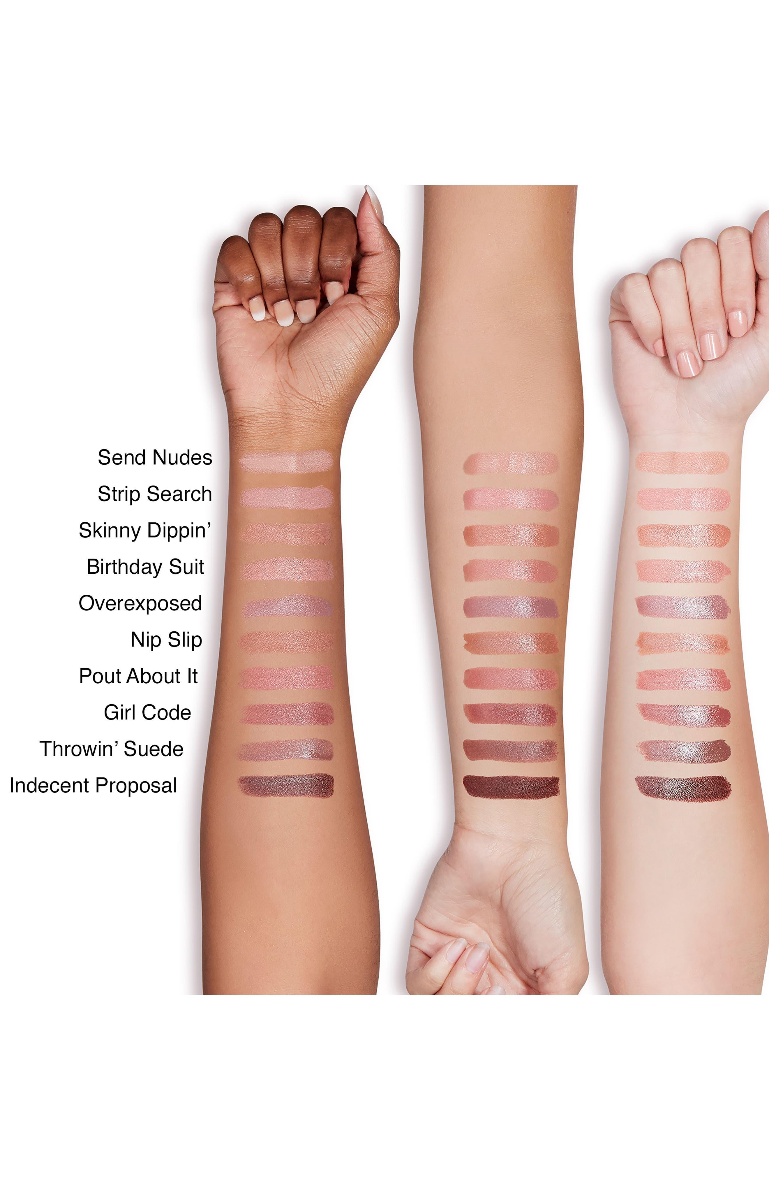 Natural Nudes Lipstick,                             Alternate thumbnail 8, color,                             NIP SLIP