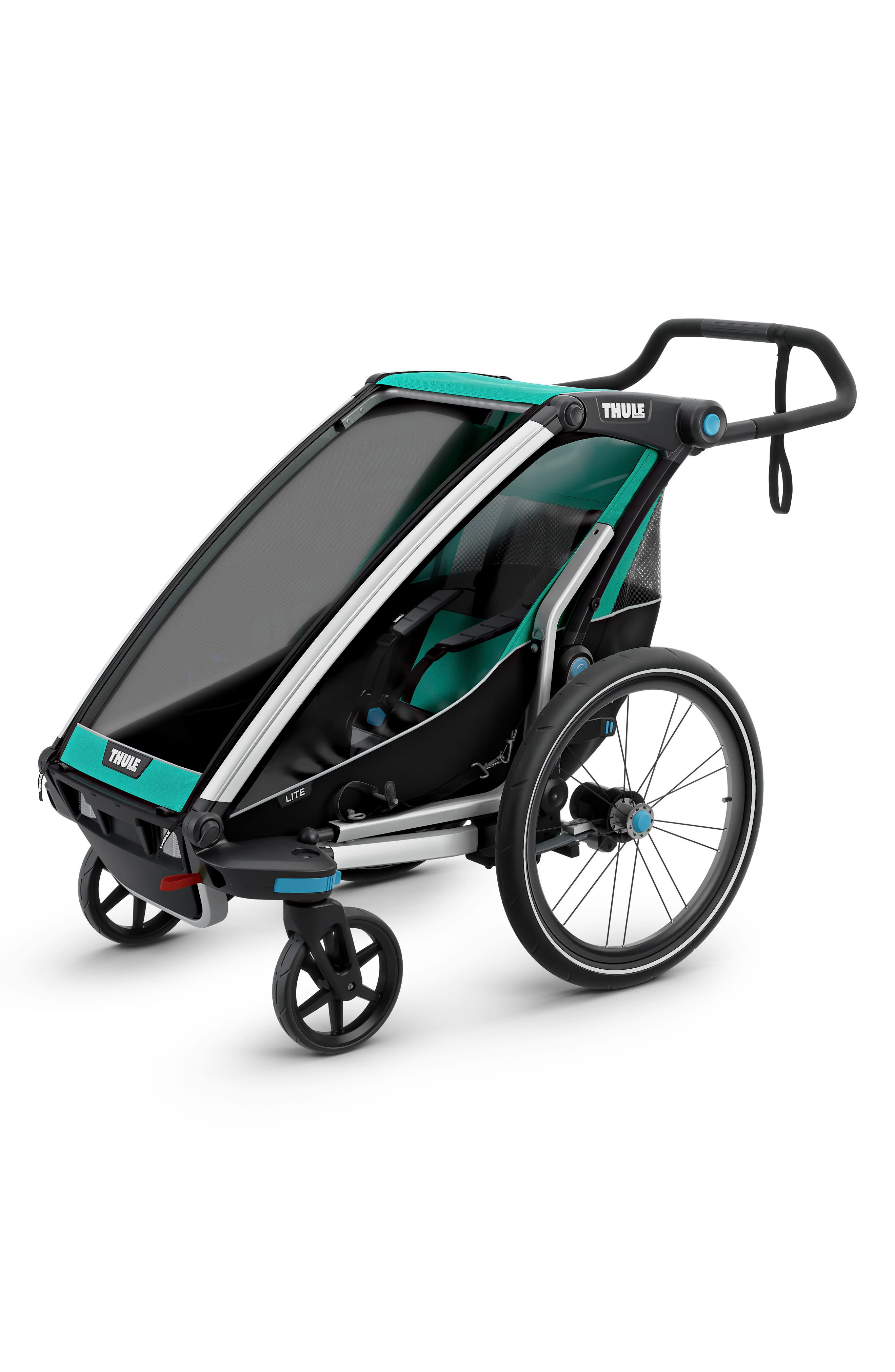 Chariot Lite Multisport Cycle Trailer/Stroller,                             Main thumbnail 1, color,                             BLUEGRASS