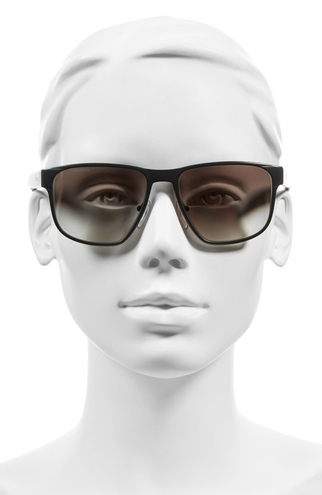 55mm Sunglasses,                             Alternate thumbnail 2, color,                             022