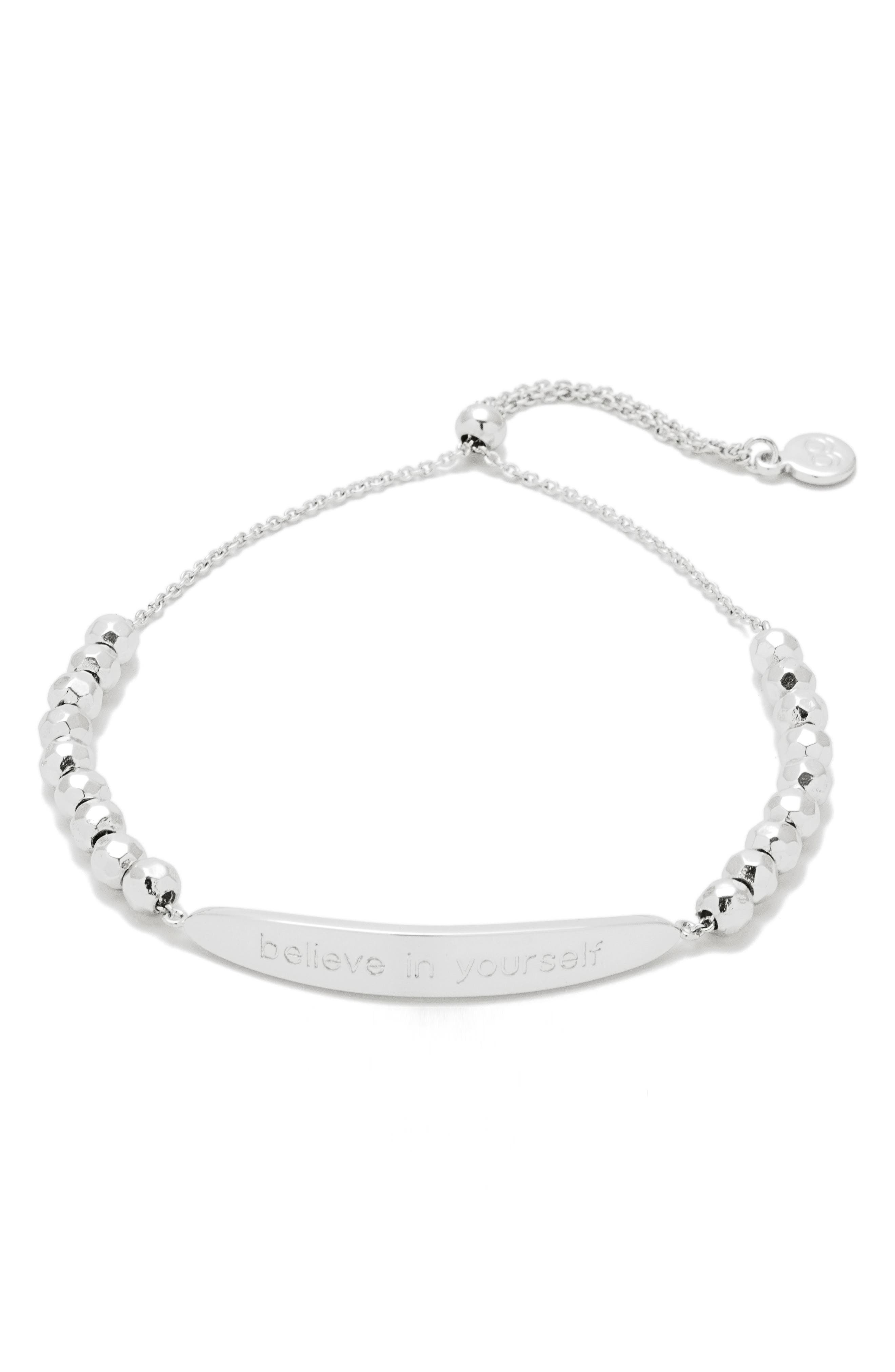 Power Intention Believe in Yourself Bracelet,                             Main thumbnail 1, color,                             049