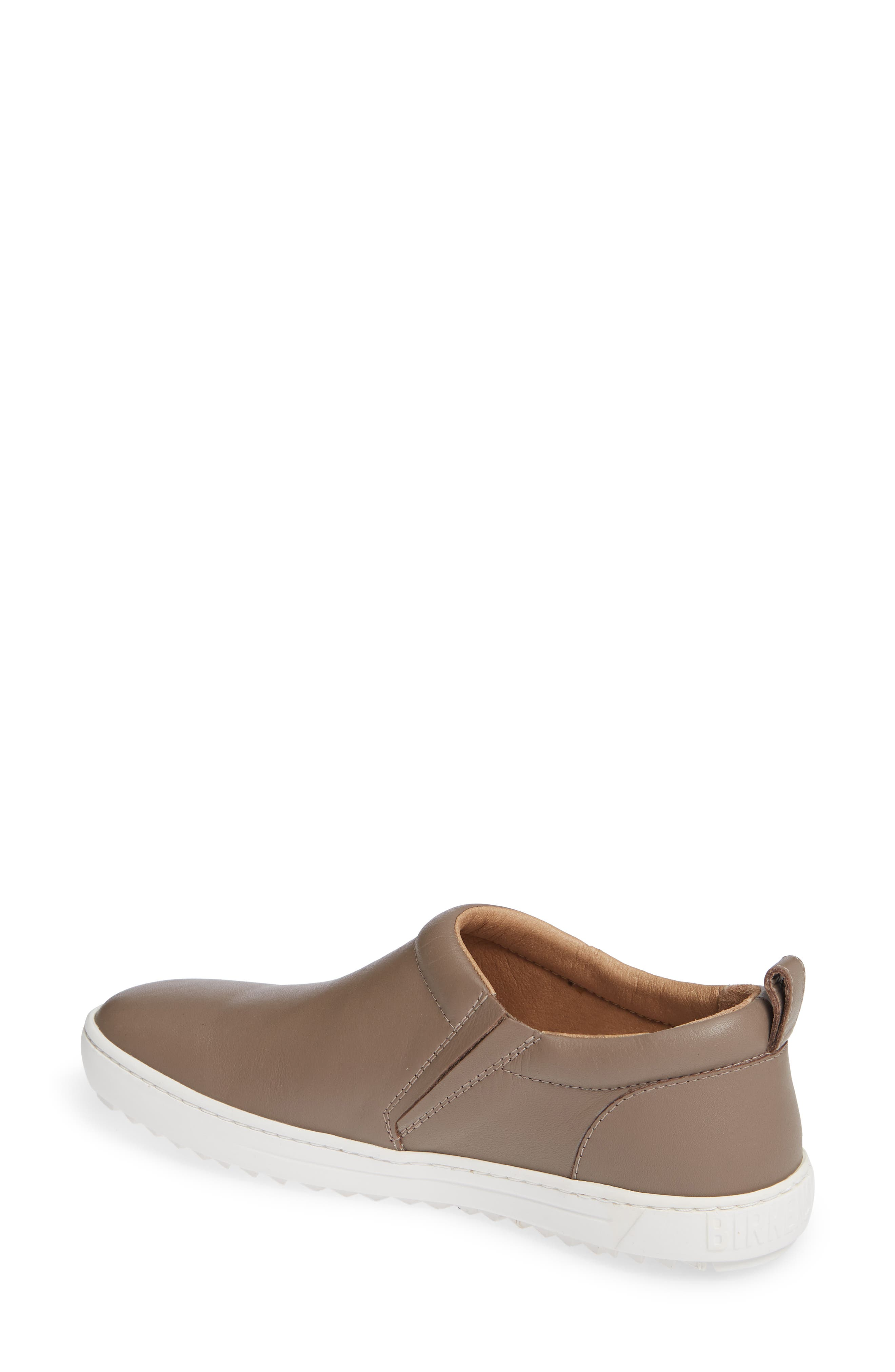 Rena Slip-On Sneaker,                             Alternate thumbnail 2, color,                             TAUPE LEATHER