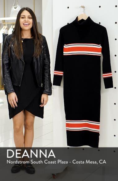 Sport Stripe Midi Sweater Dress, sales video thumbnail