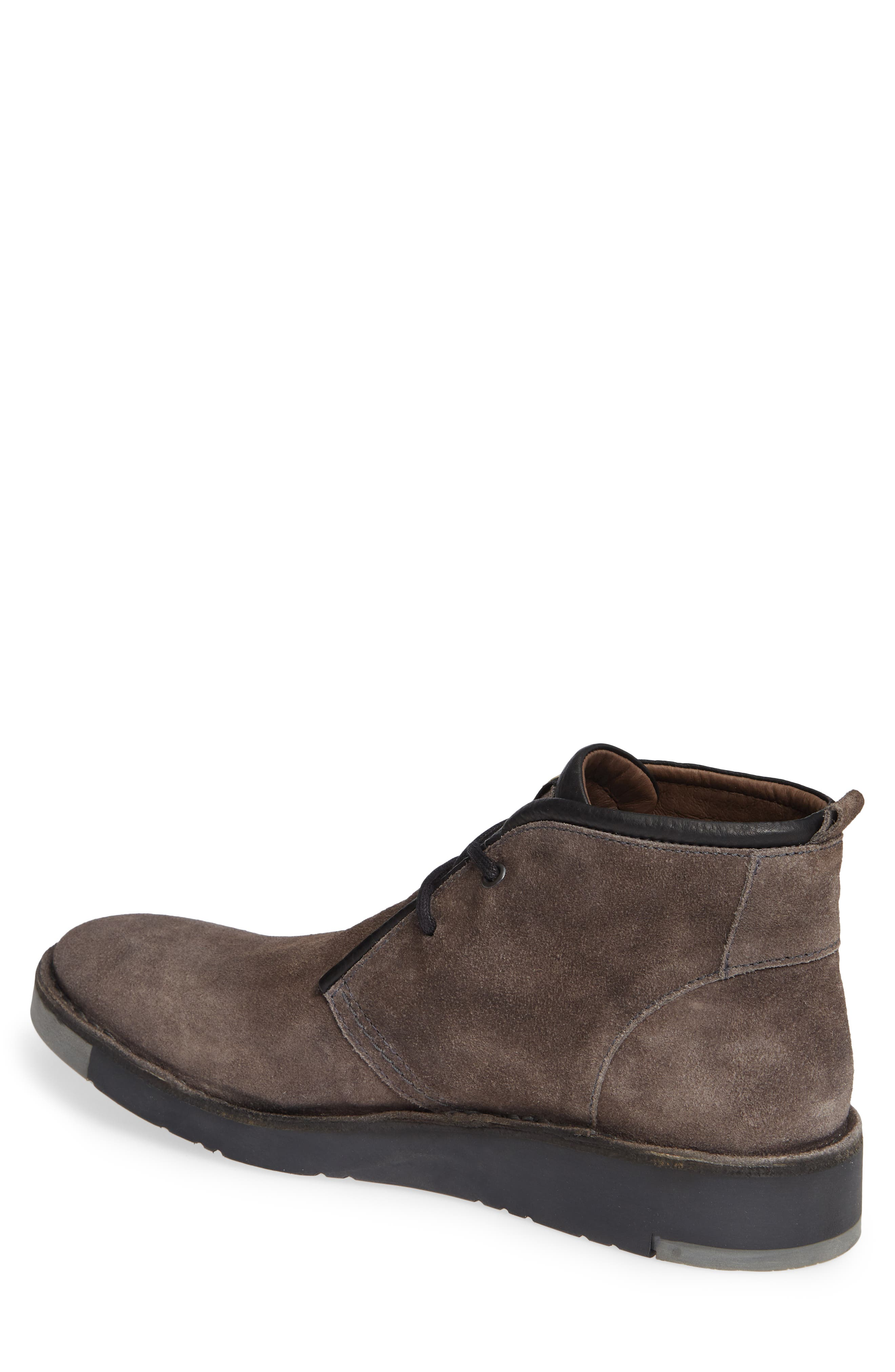 Sion Water Resistant Chukka Boot,                             Alternate thumbnail 2, color,                             GREY OIL SUEDE