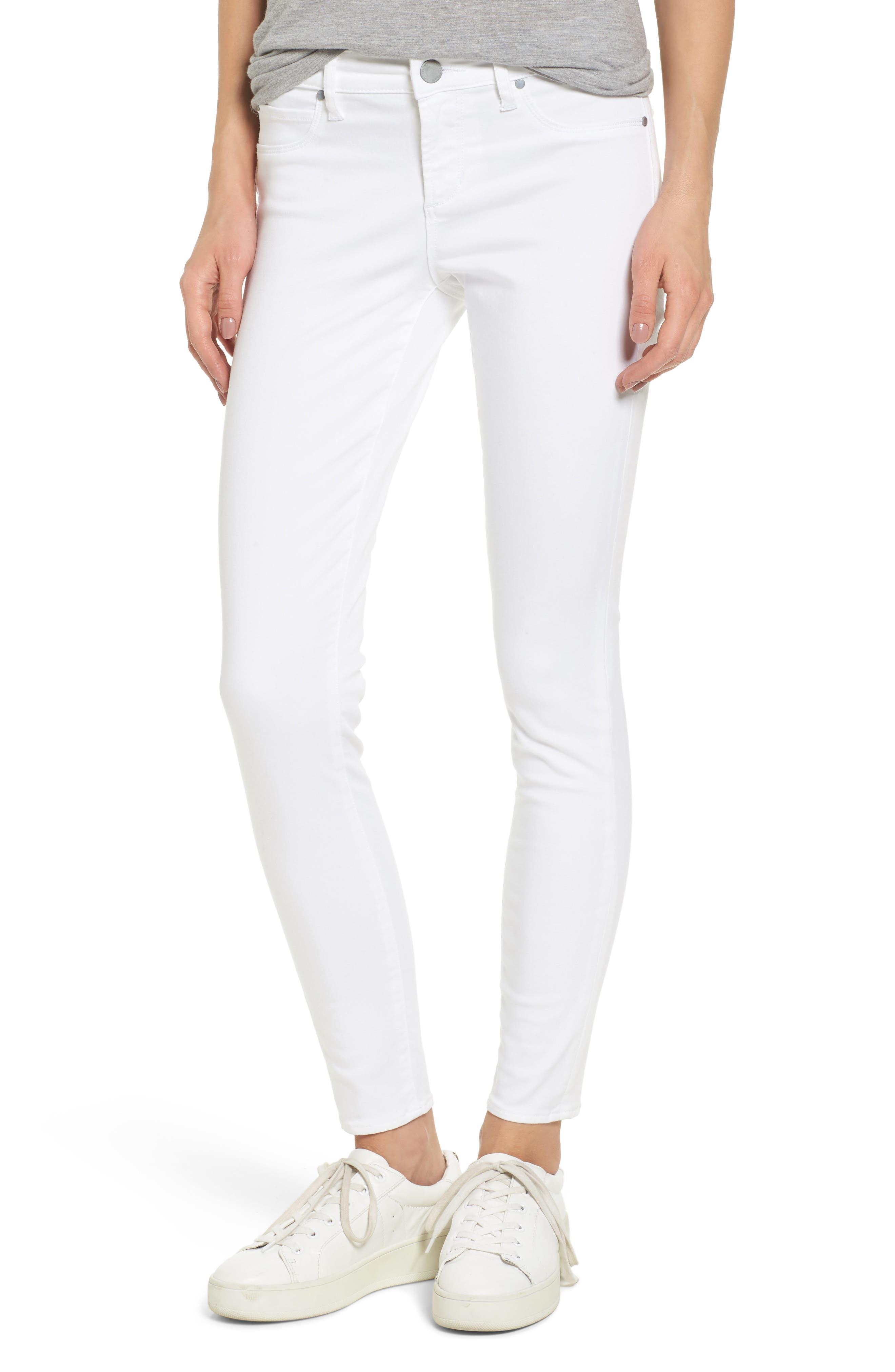 Sarah Skinny Jeans,                             Main thumbnail 1, color,                             100