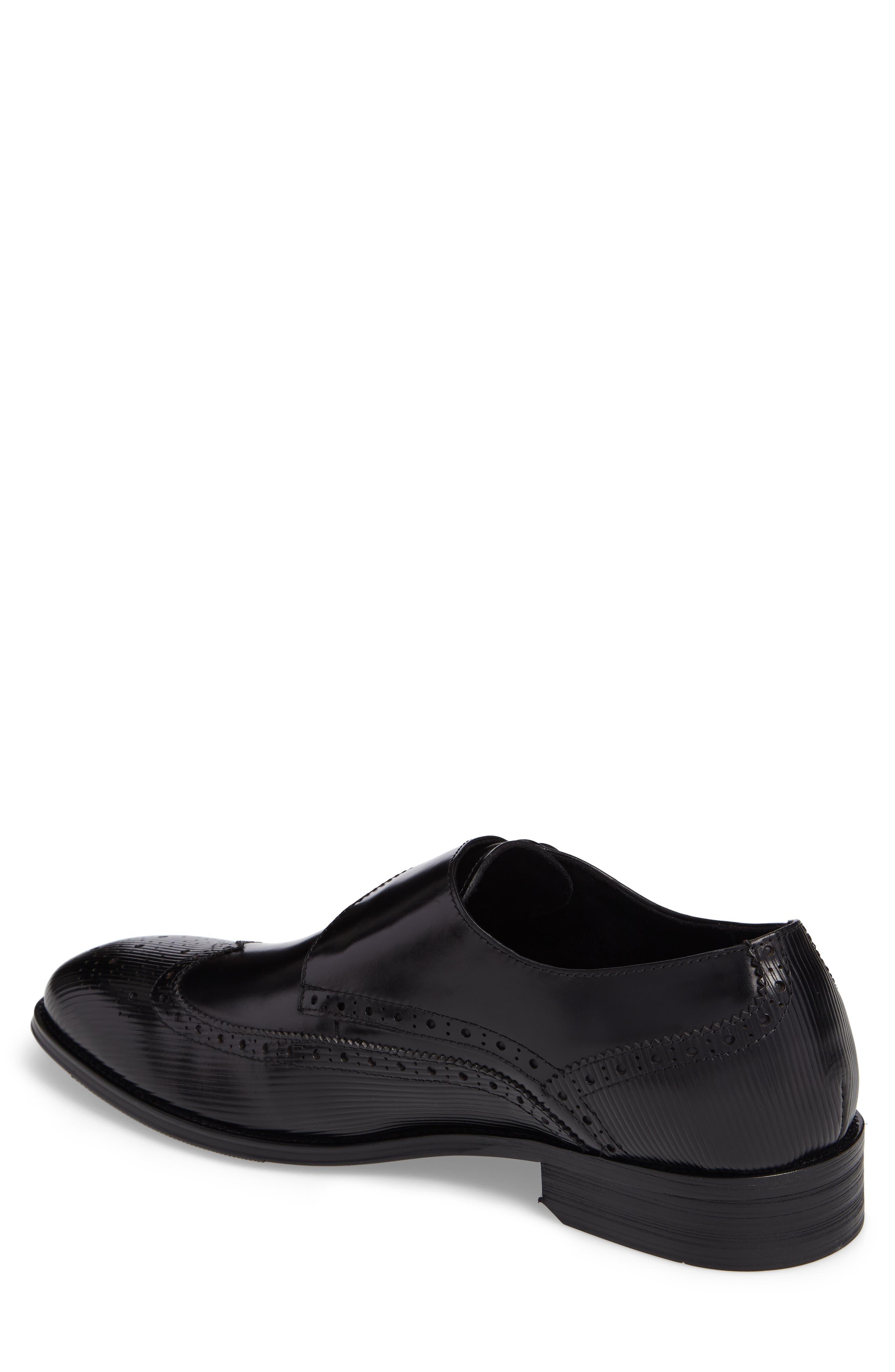 Design Monk Strap Shoe,                             Alternate thumbnail 3, color,
