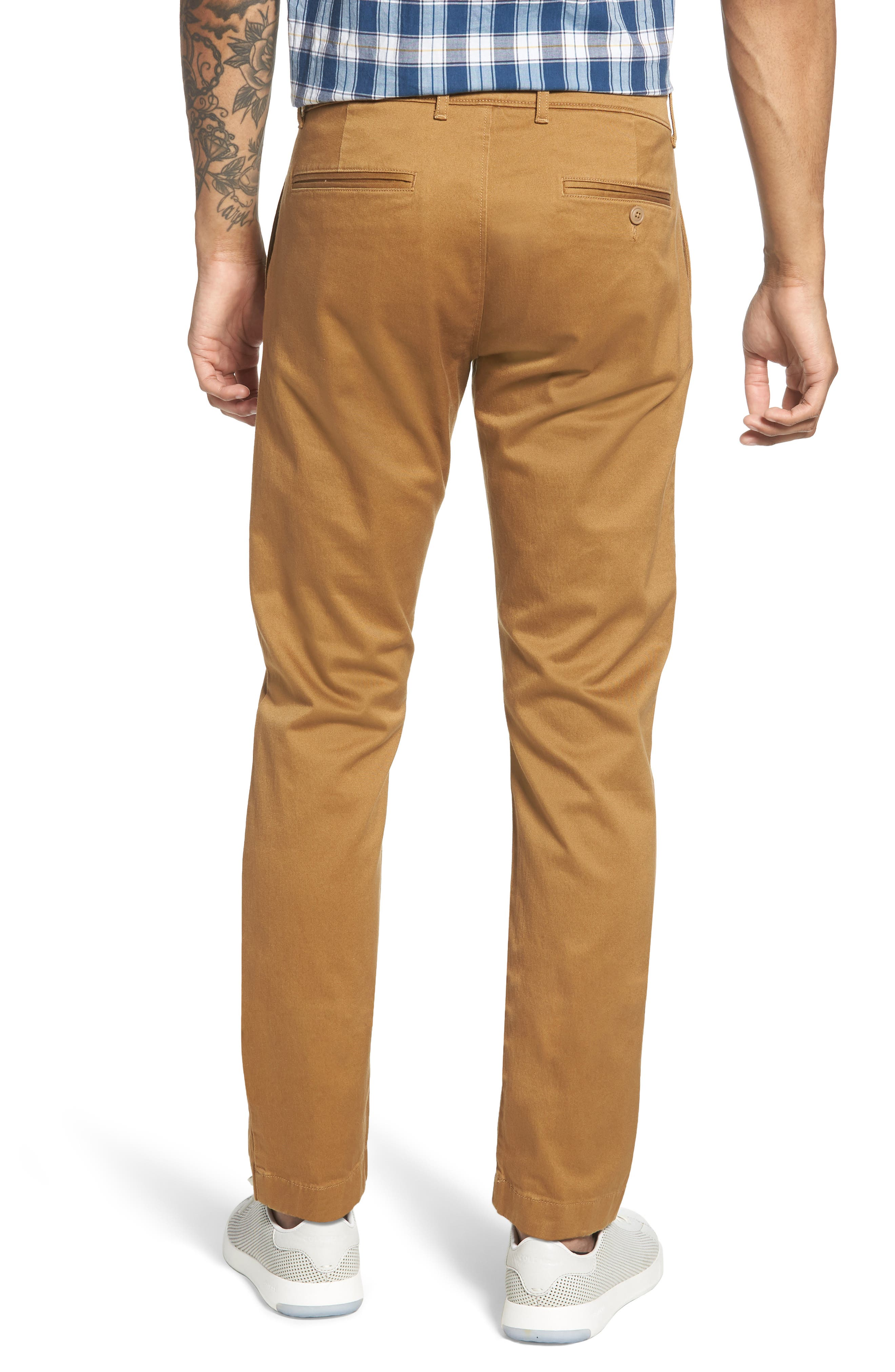 484 Slim Fit Stretch Chino Pants,                             Alternate thumbnail 16, color,