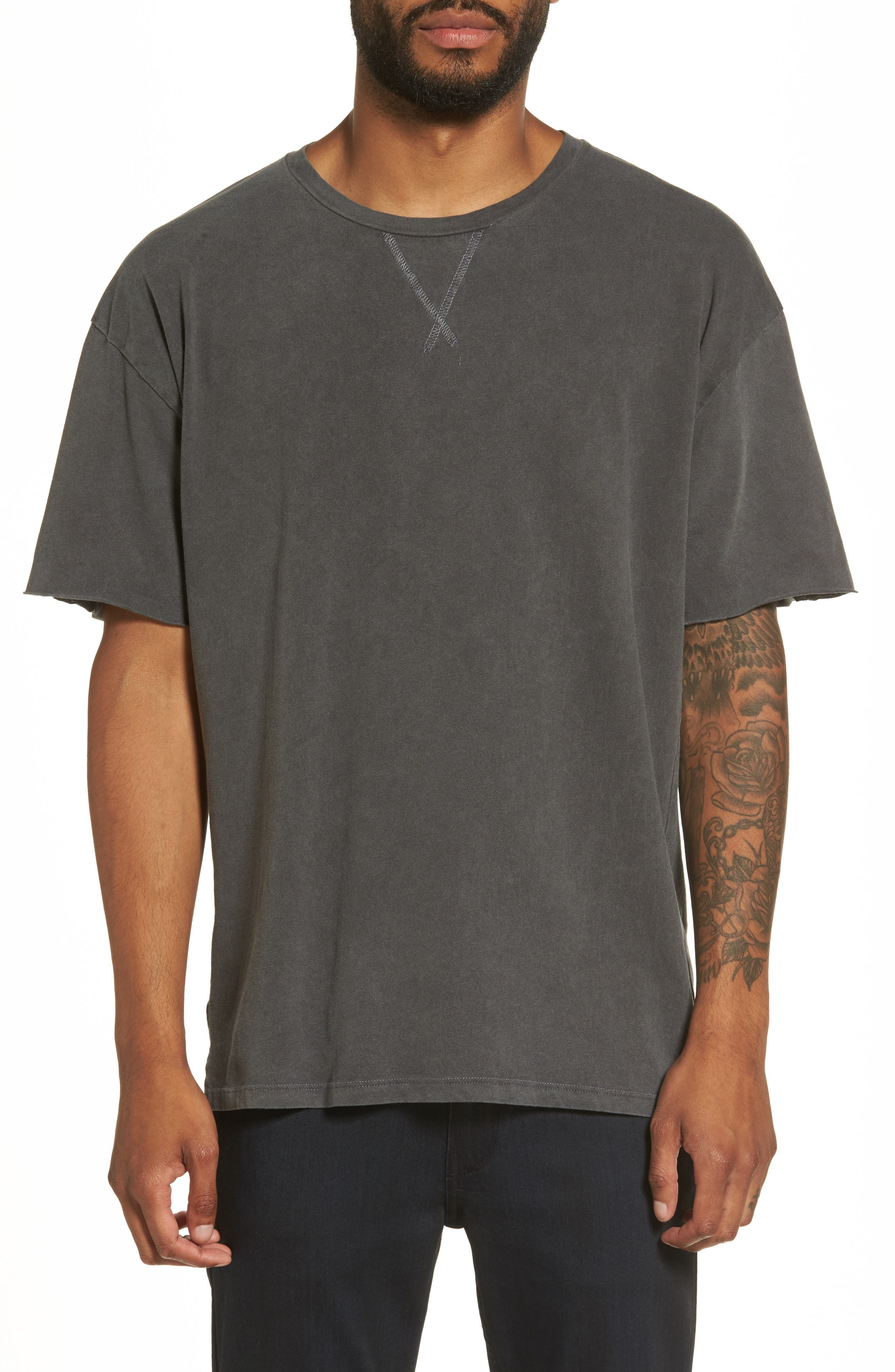 Mineral Wash T-Shirt,                             Main thumbnail 1, color,                             001