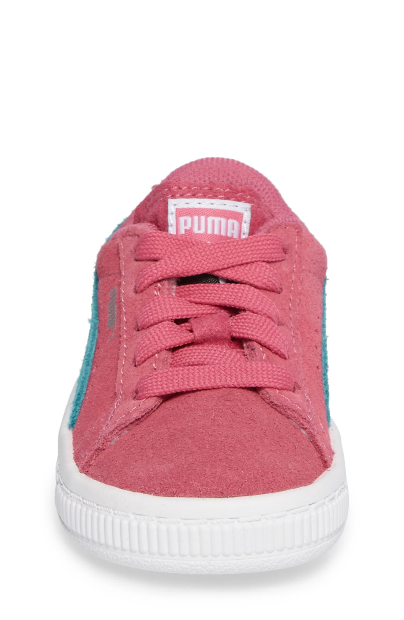 Suede Sneaker,                             Alternate thumbnail 4, color,                             690
