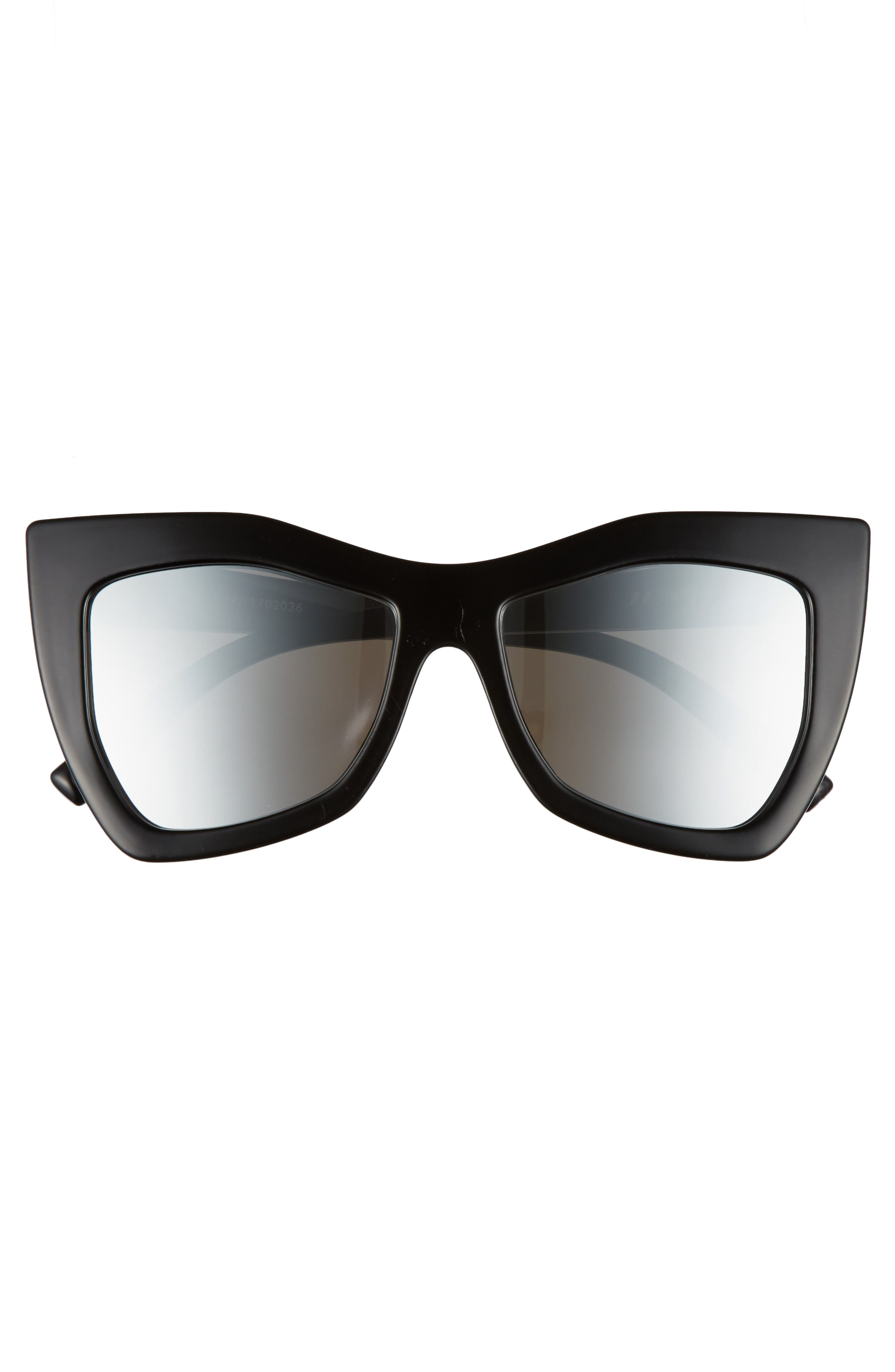 Kick It 54mm Sunglasses,                             Alternate thumbnail 3, color,                             001