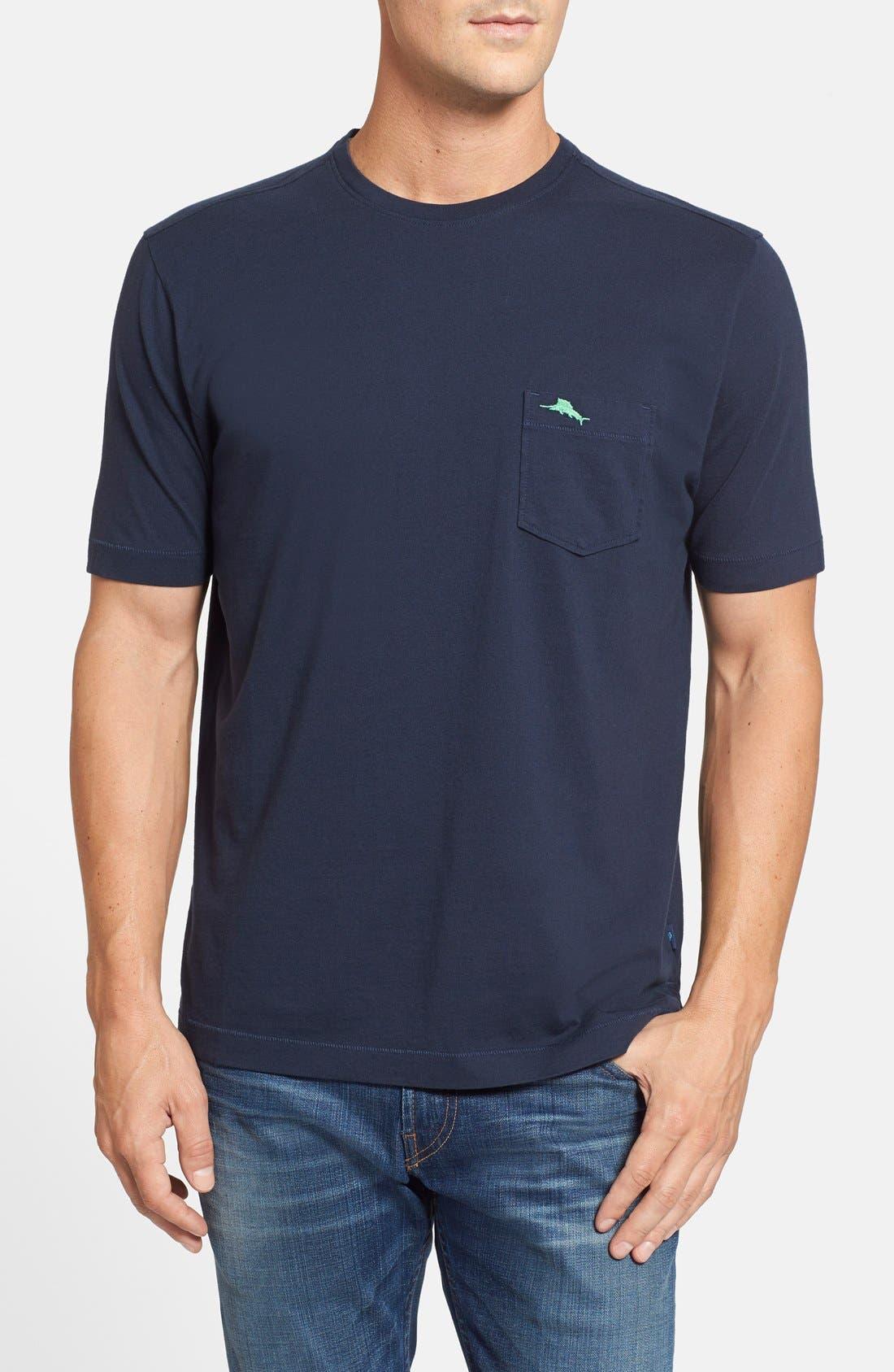 New Bali Sky Pima Cotton Pocket T-Shirt,                             Main thumbnail 20, color,