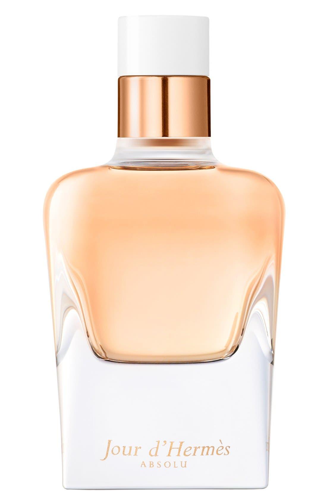 Jour d'Hermès Absolu - Eau de parfum,                             Main thumbnail 1, color,                             NO COLOR