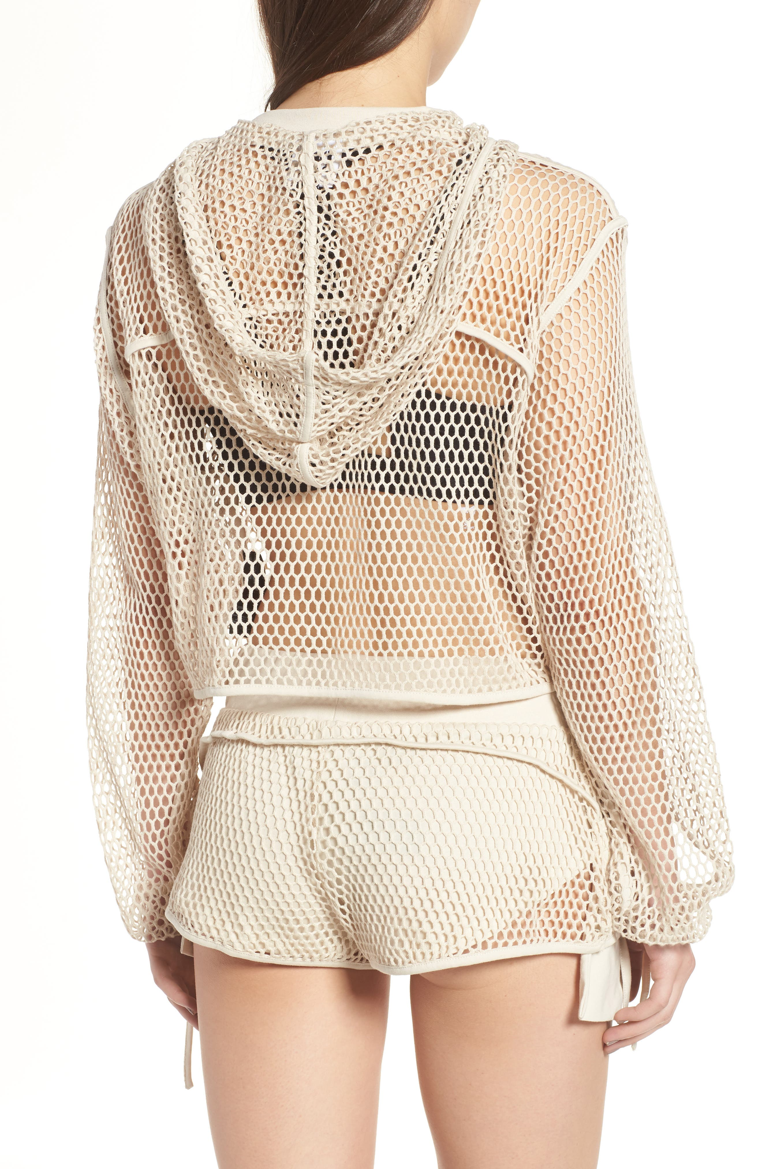 Mesh Hoodie,                             Alternate thumbnail 2, color,                             271
