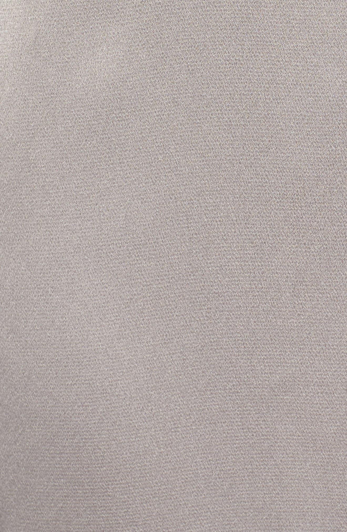 Satin Duster Jacket,                             Alternate thumbnail 6, color,                             020