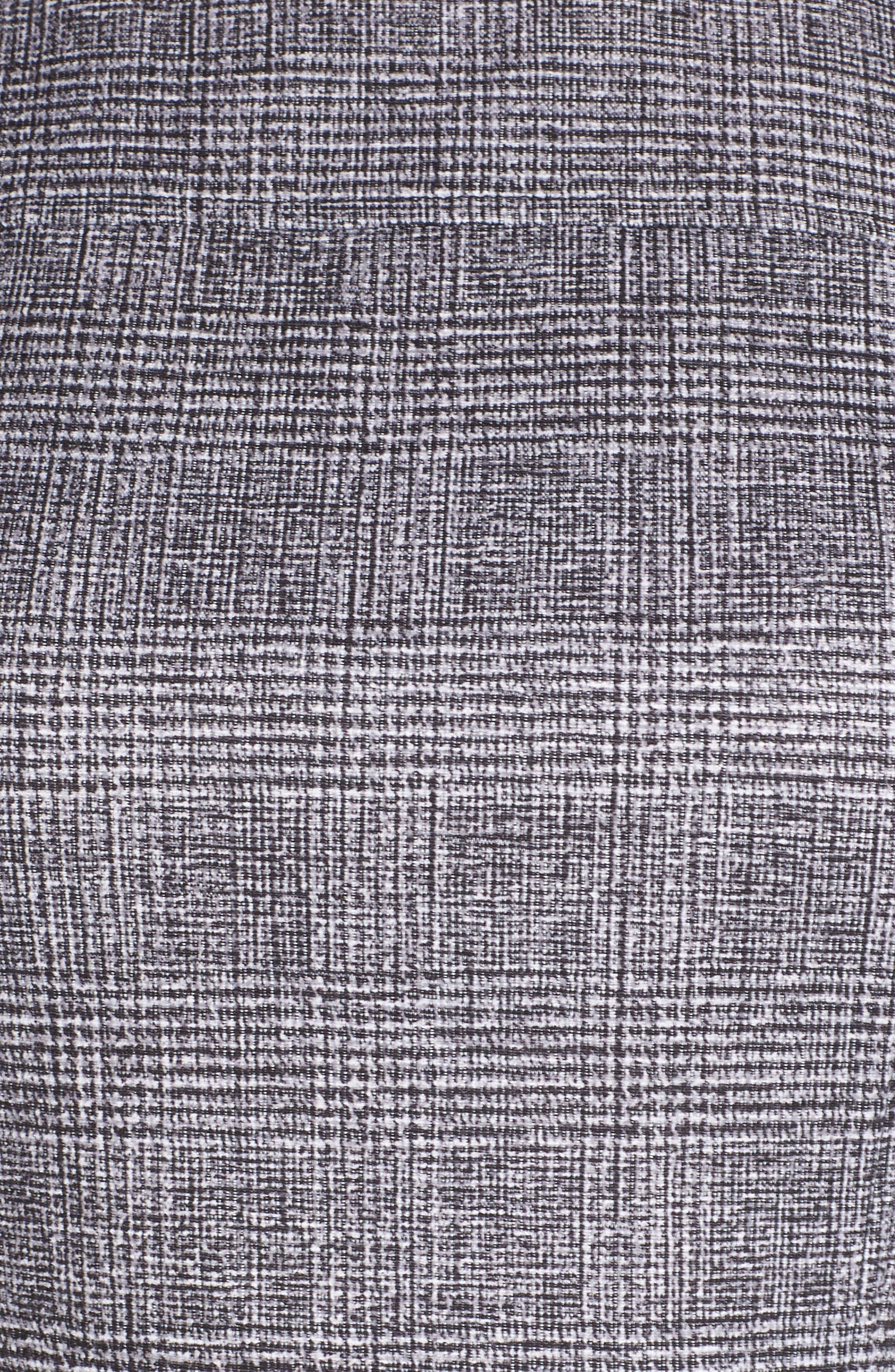 CHELSEA28,                             Sleeveless Plaid Dress,                             Alternate thumbnail 6, color,                             001