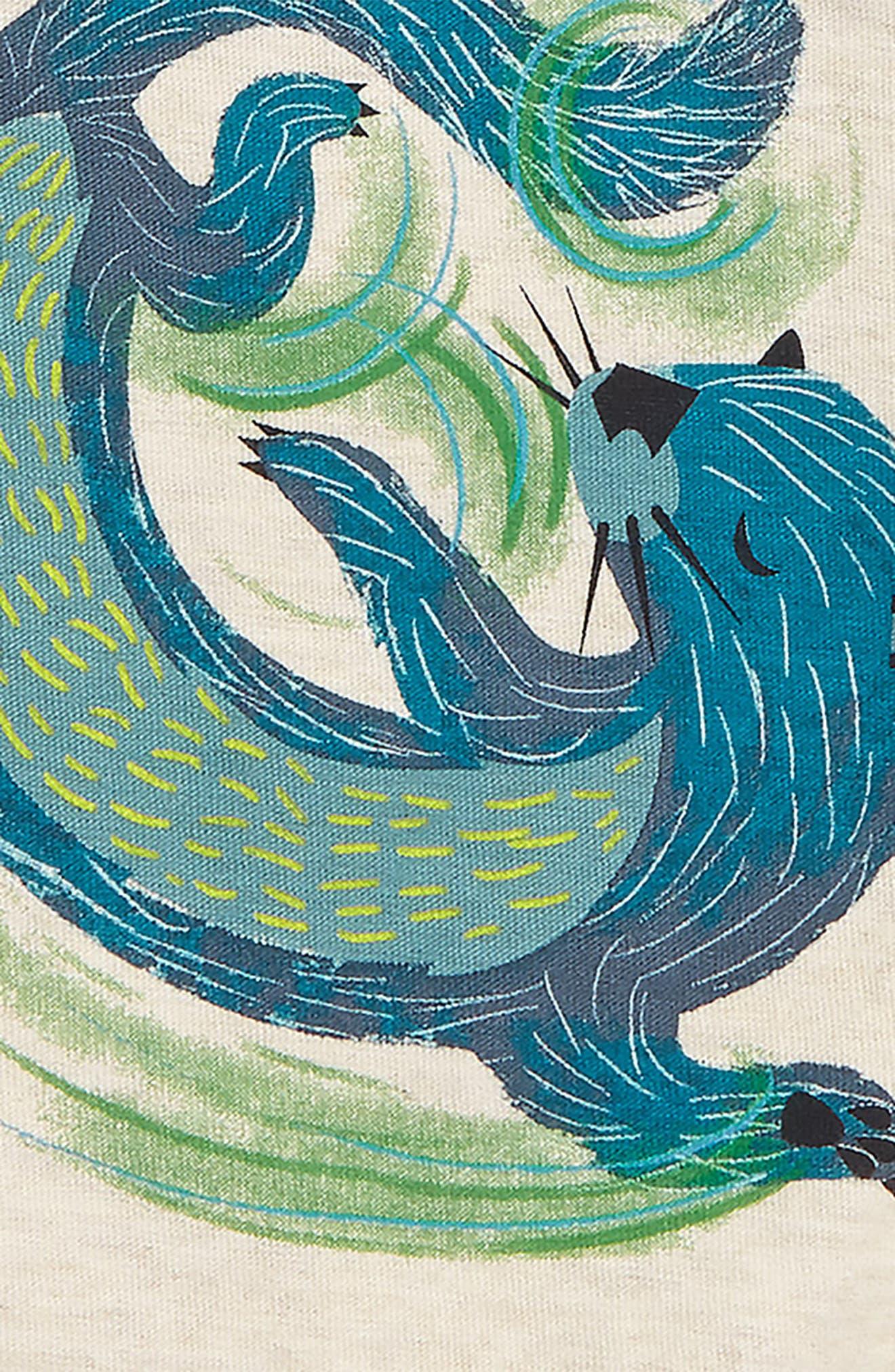 River Otter Graphic T-Shirt,                             Alternate thumbnail 2, color,                             280