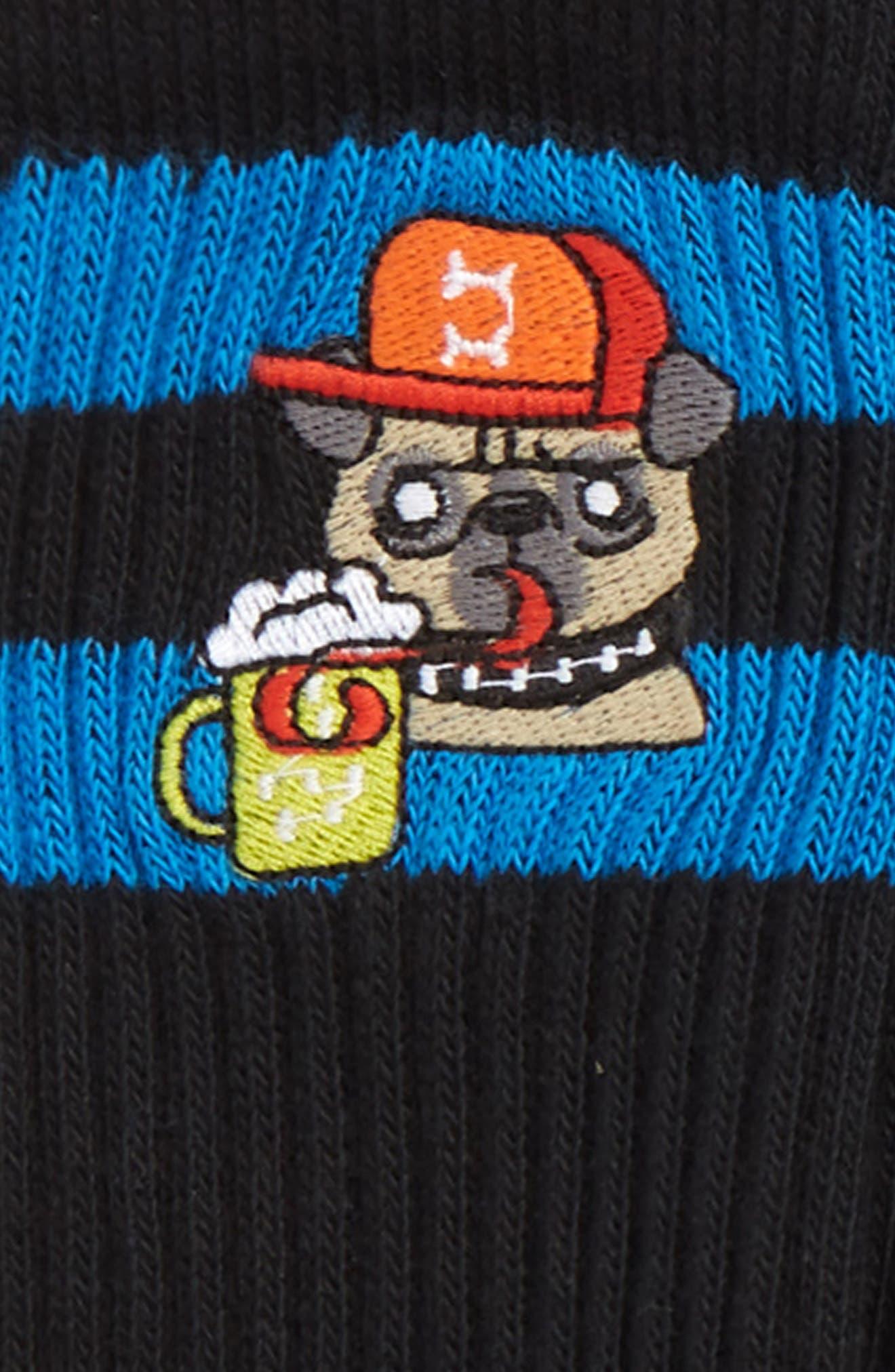 Icon 4-Pack Socks,                             Alternate thumbnail 2, color,                             BLACK/ NAVY/ BLUE ICONS