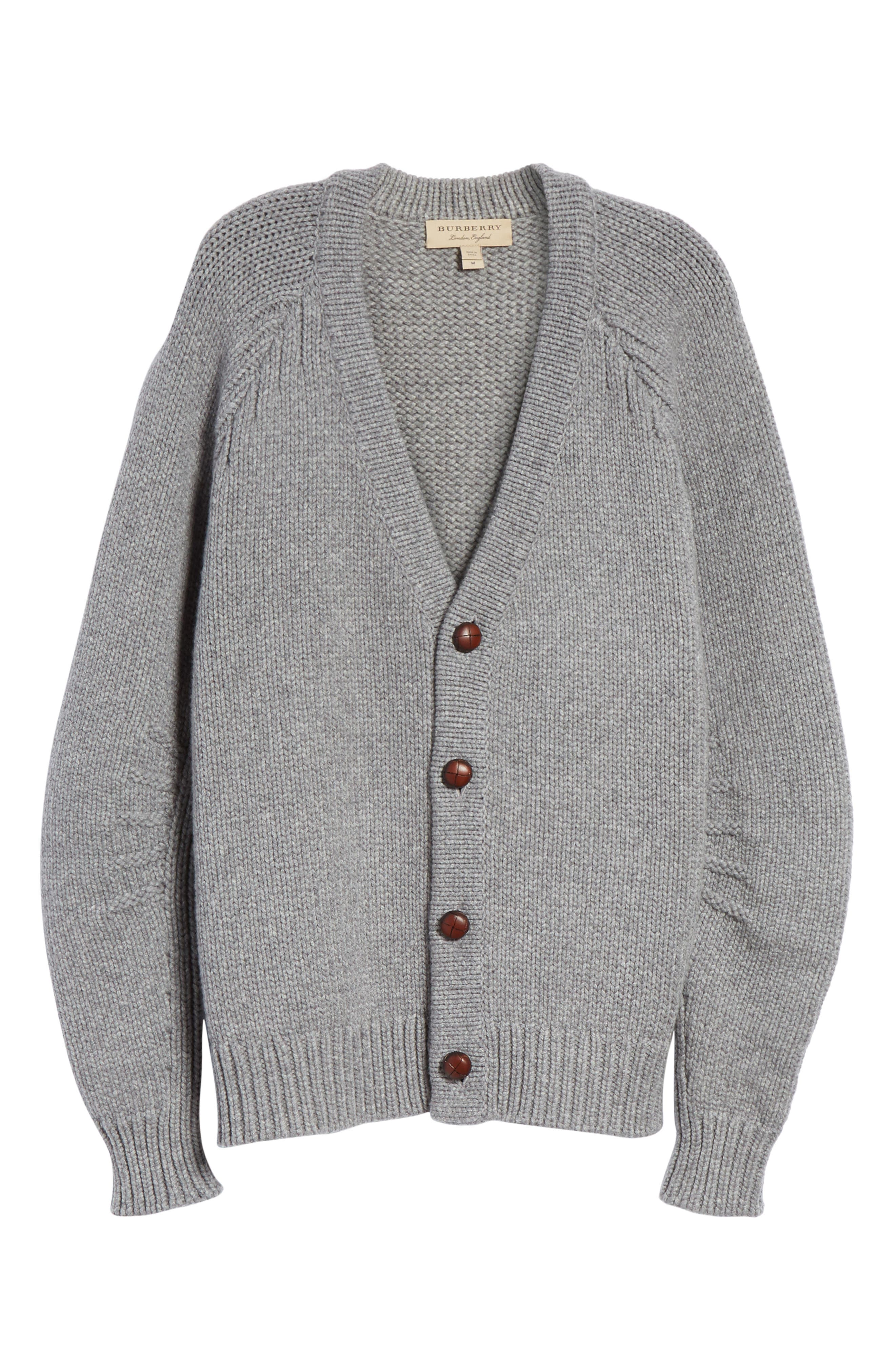 Caldwell Wool & Cashmere Cardigan,                             Alternate thumbnail 6, color,