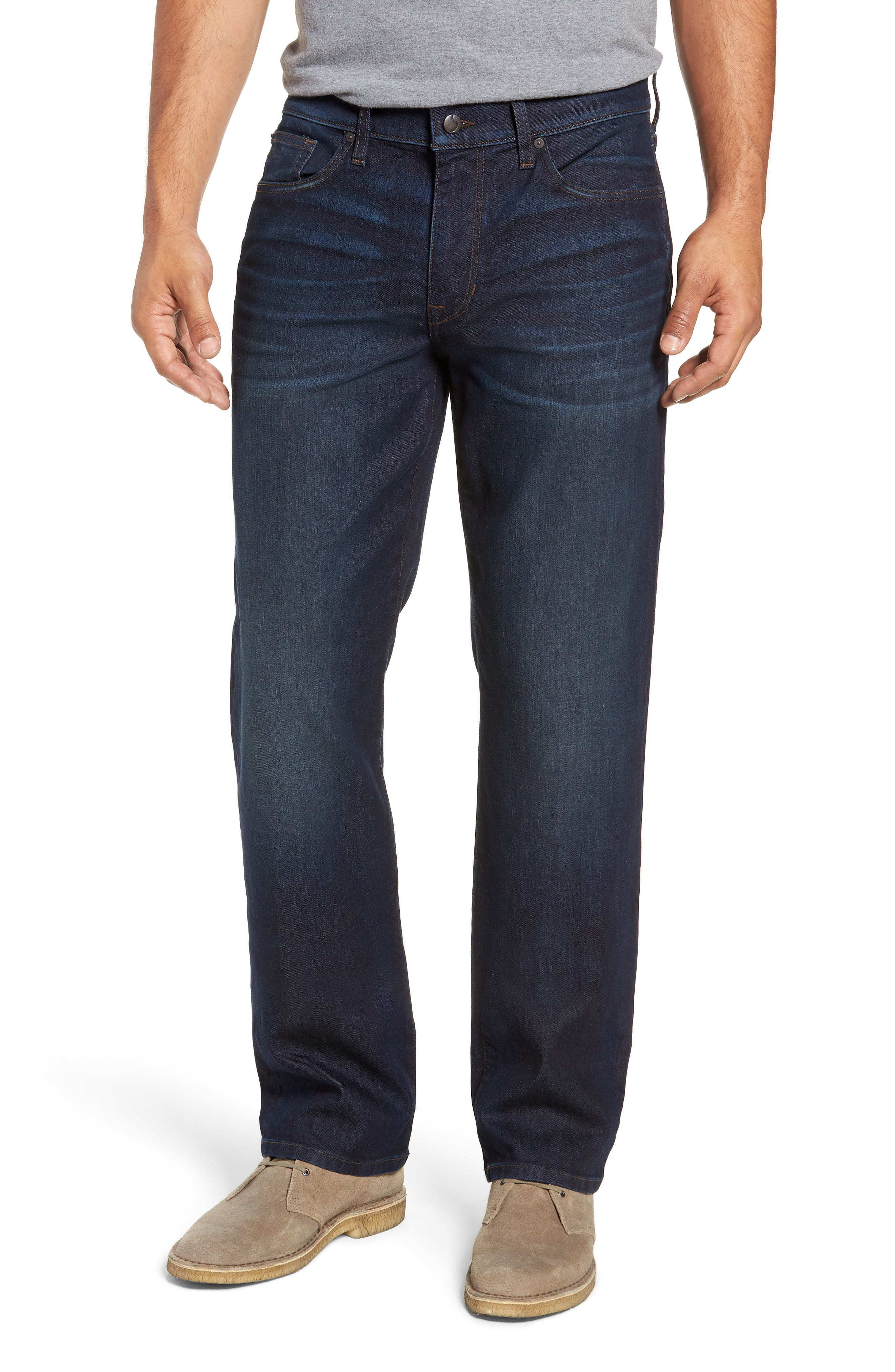 Classic Straight Leg Jeans,                             Main thumbnail 1, color,                             LUCCA