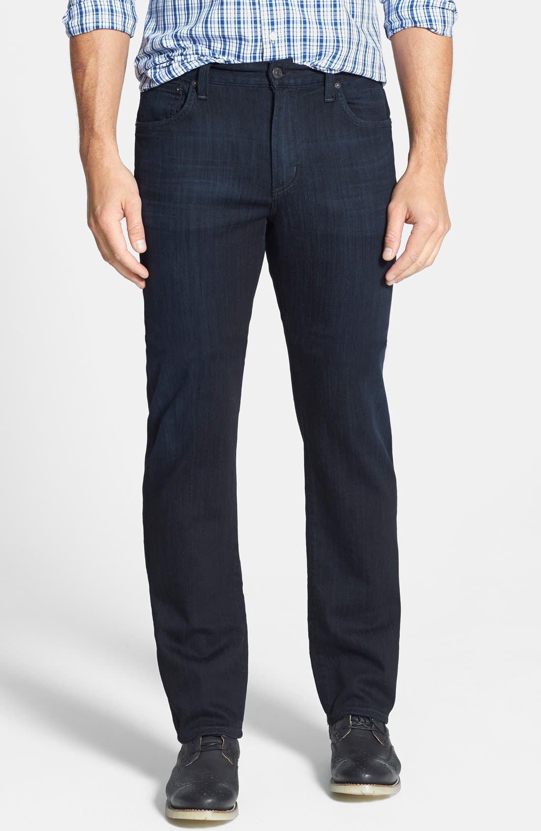 Sid Classic Straight Leg Jeans,                             Main thumbnail 1, color,                             REESE WASH