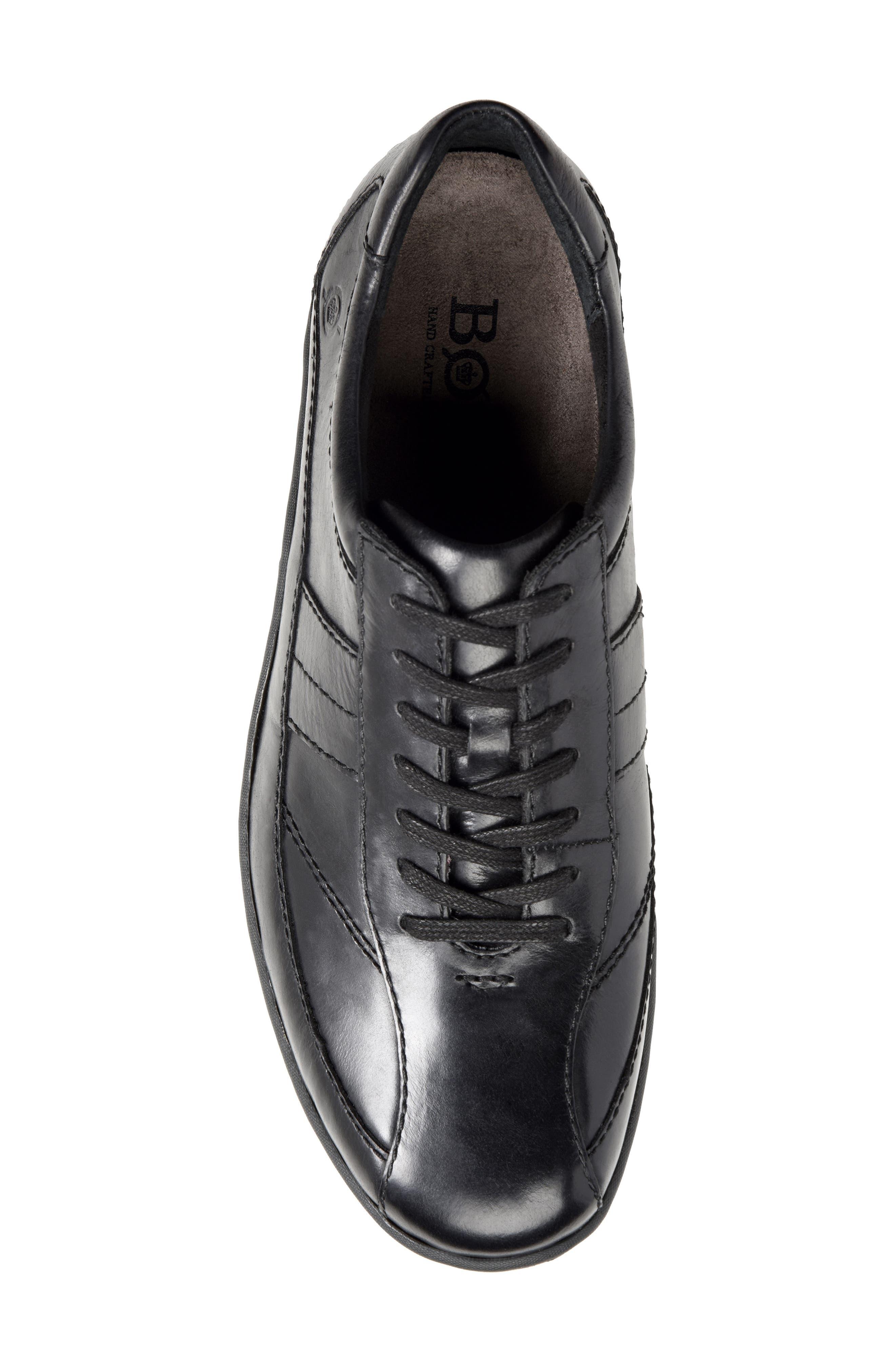 Breves Low Top Sneaker,                             Alternate thumbnail 5, color,                             BLACK