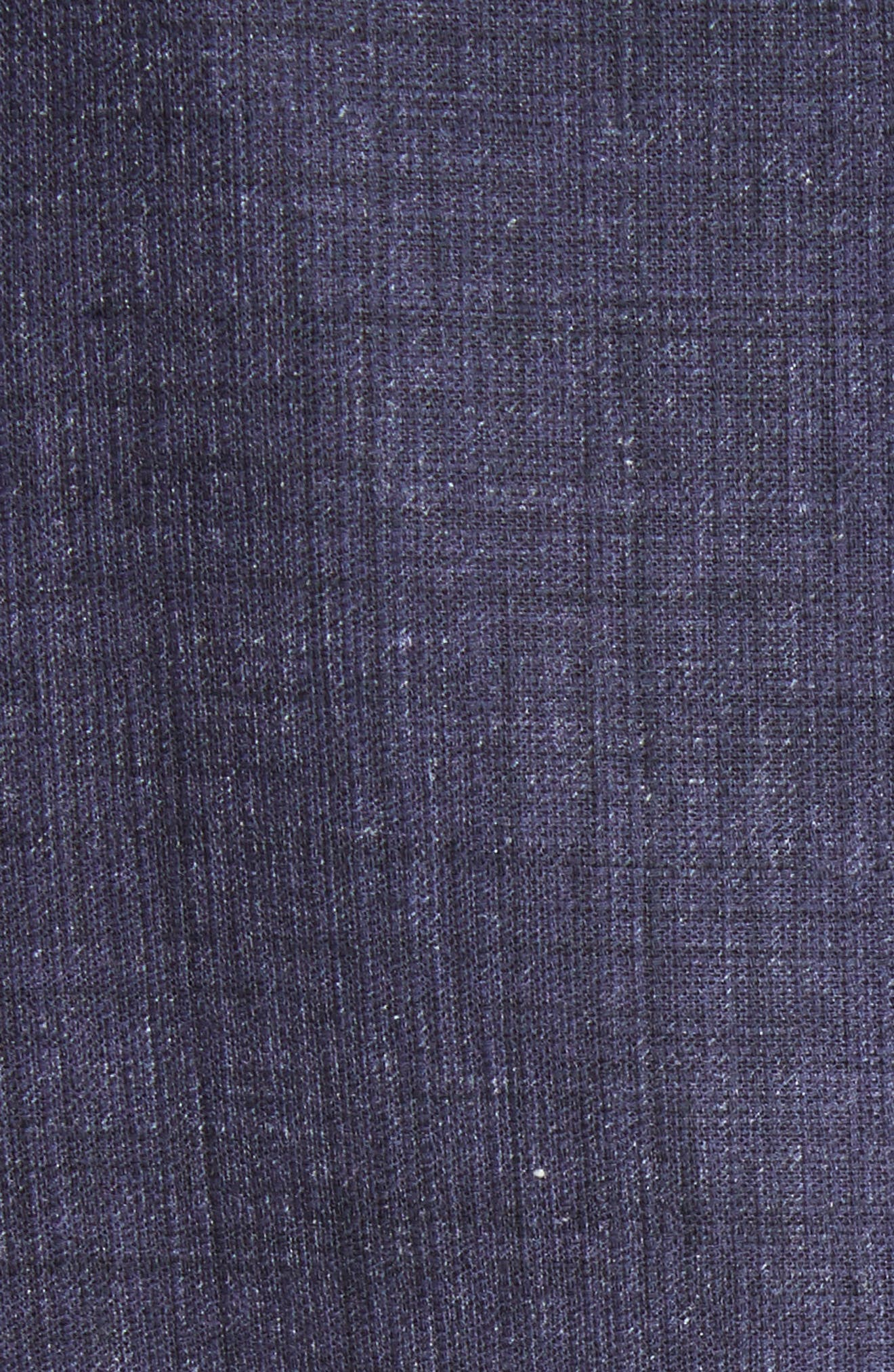 Hana Print Chambray Dress,                             Alternate thumbnail 5, color,                             438
