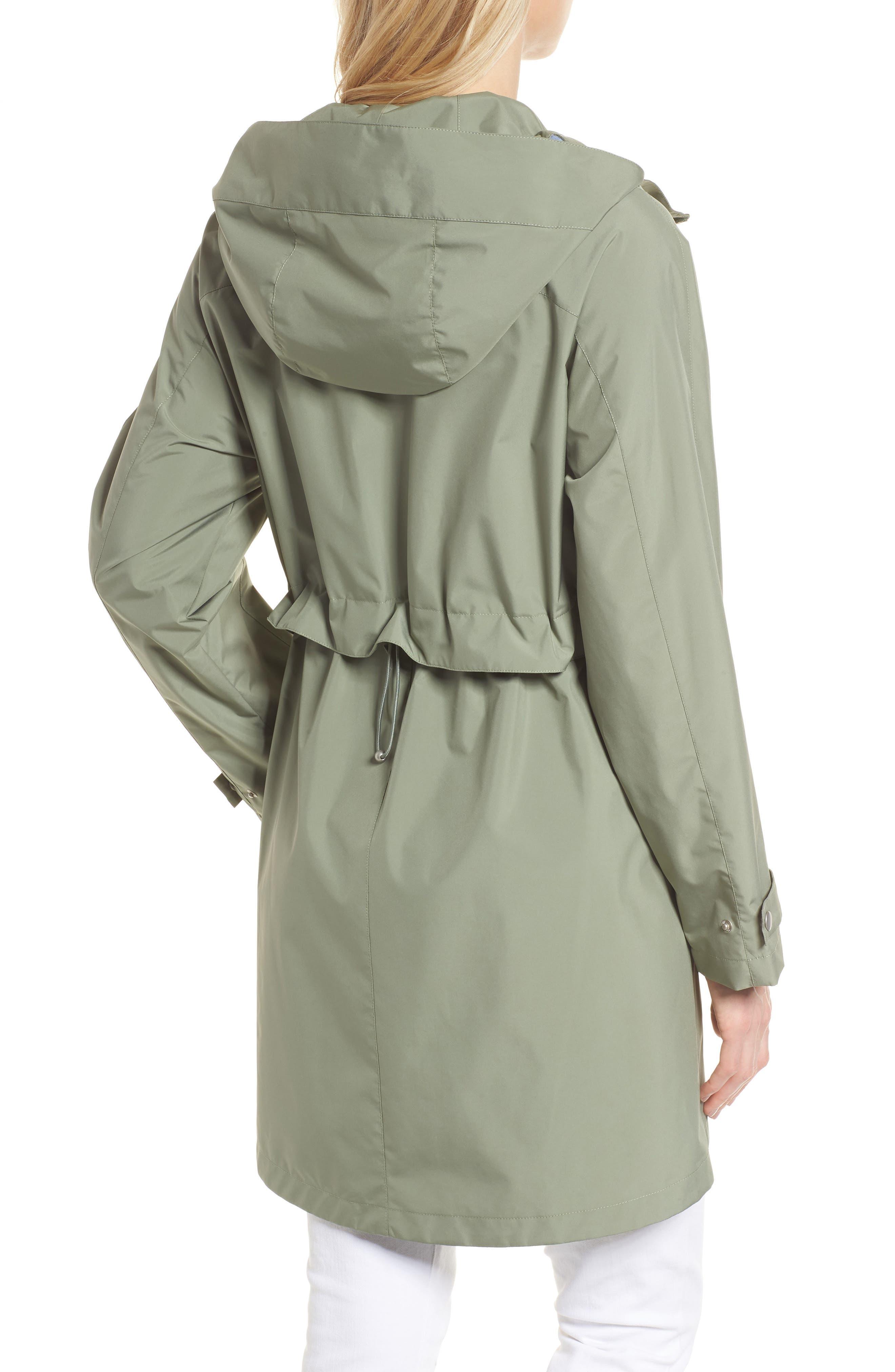 Pearl Cloth Hooded Jacket,                             Alternate thumbnail 4, color,