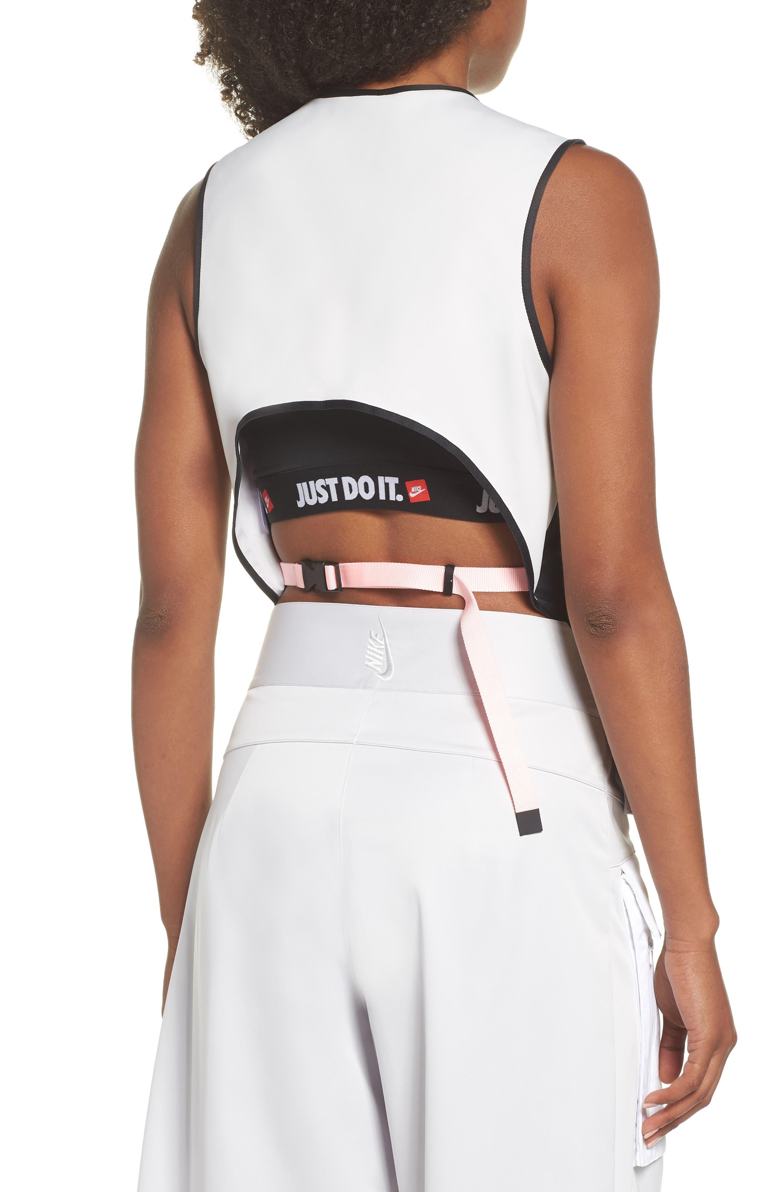 NRG Women's Utility Vest,                             Alternate thumbnail 2, color,                             BLACK/ VAPOR GREEN/ BLACK