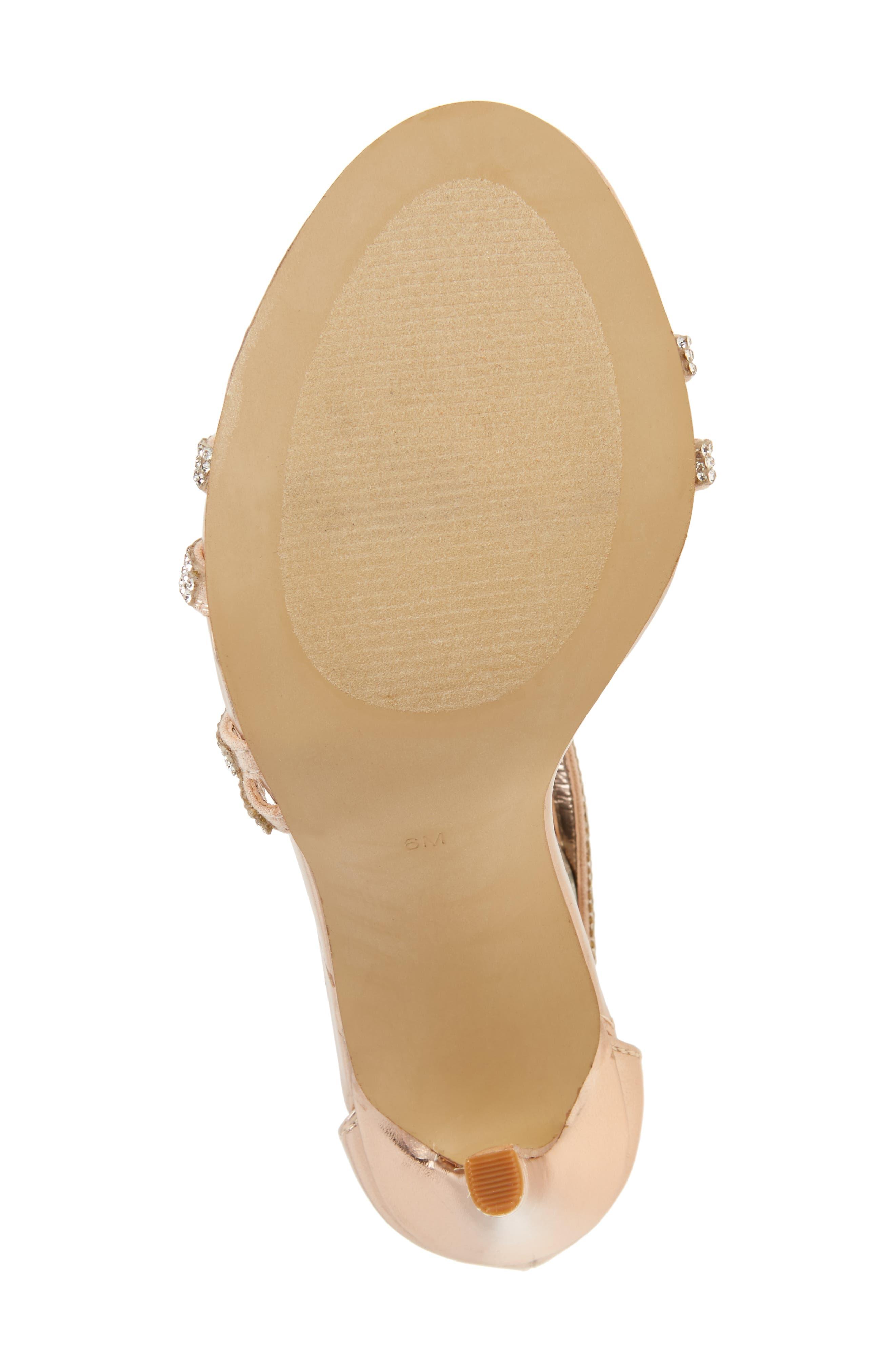 Sweetest Embellished Sandal,                             Alternate thumbnail 6, color,                             710