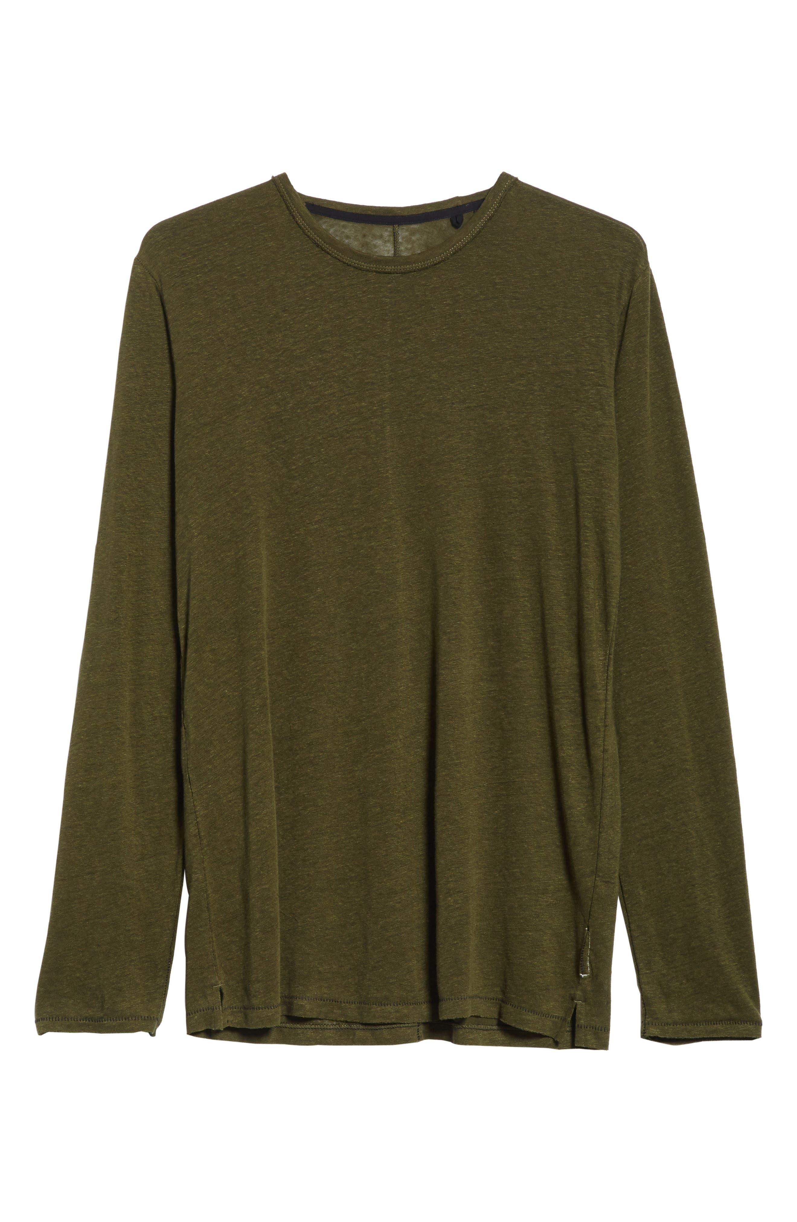 Owen Long Sleeve T-Shirt,                             Alternate thumbnail 6, color,                             319