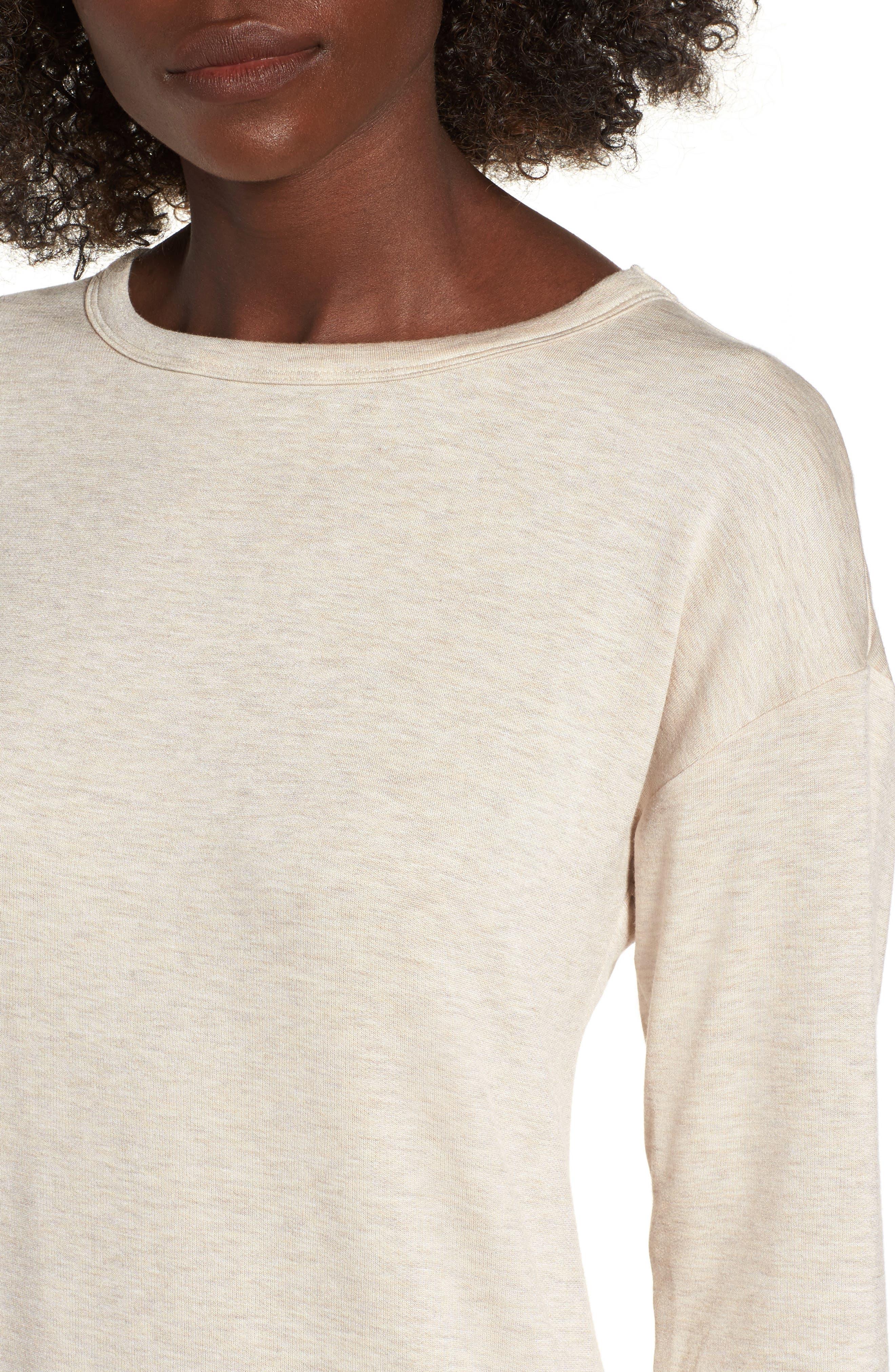 Drop Waist Sweatshirt Dress,                             Alternate thumbnail 12, color,