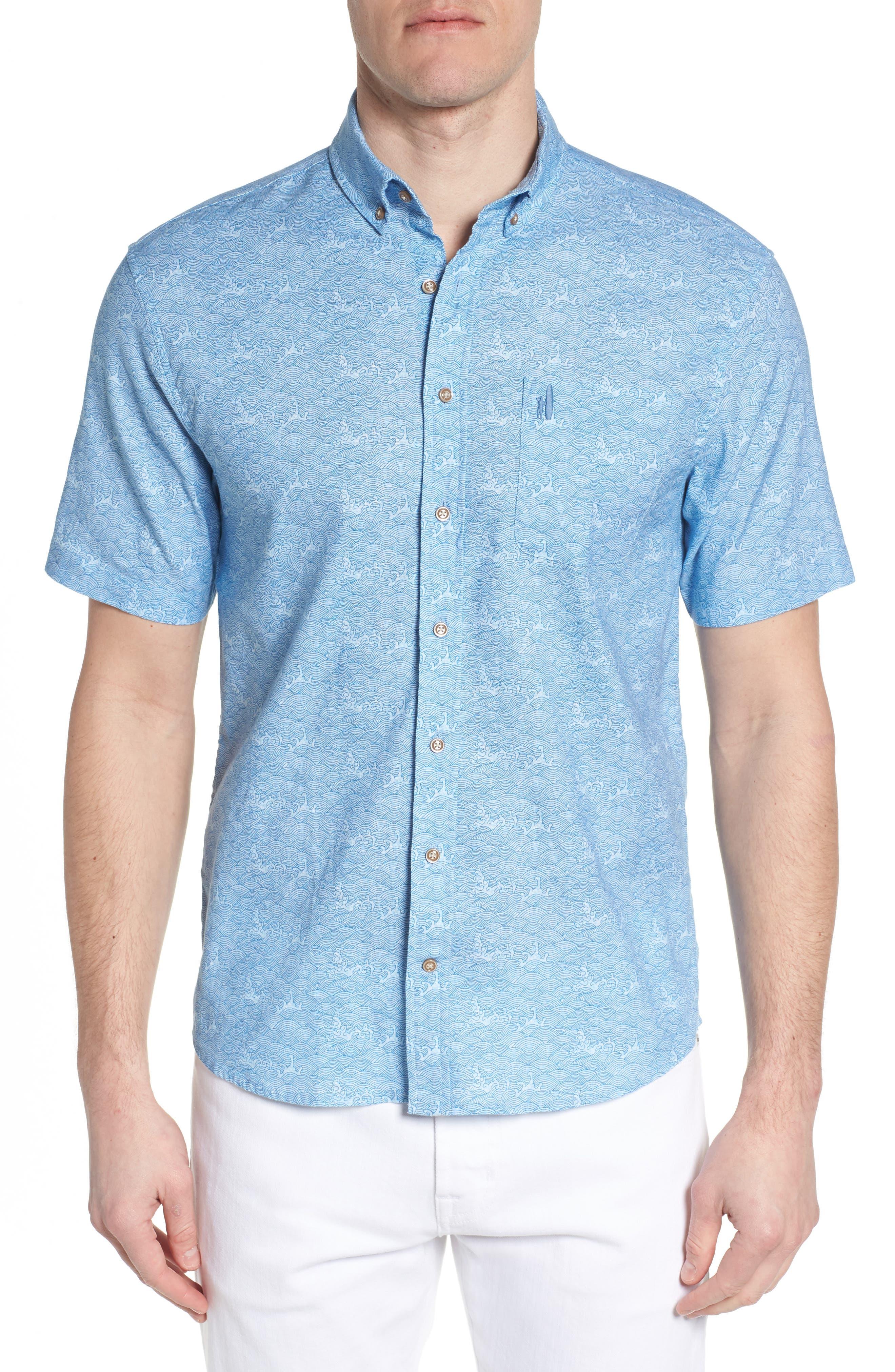 Cole Regular Fit Sport Shirt,                         Main,                         color, 347