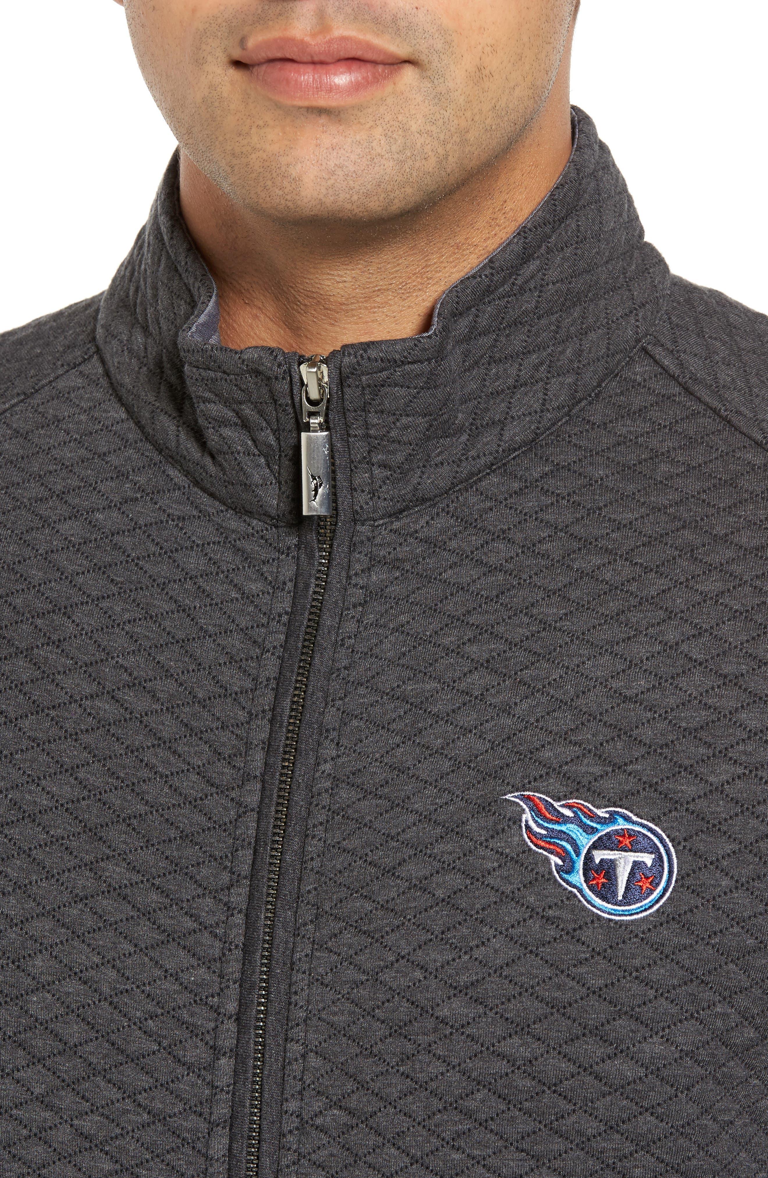 NFL Quiltessential Full Zip Sweatshirt,                             Alternate thumbnail 123, color,