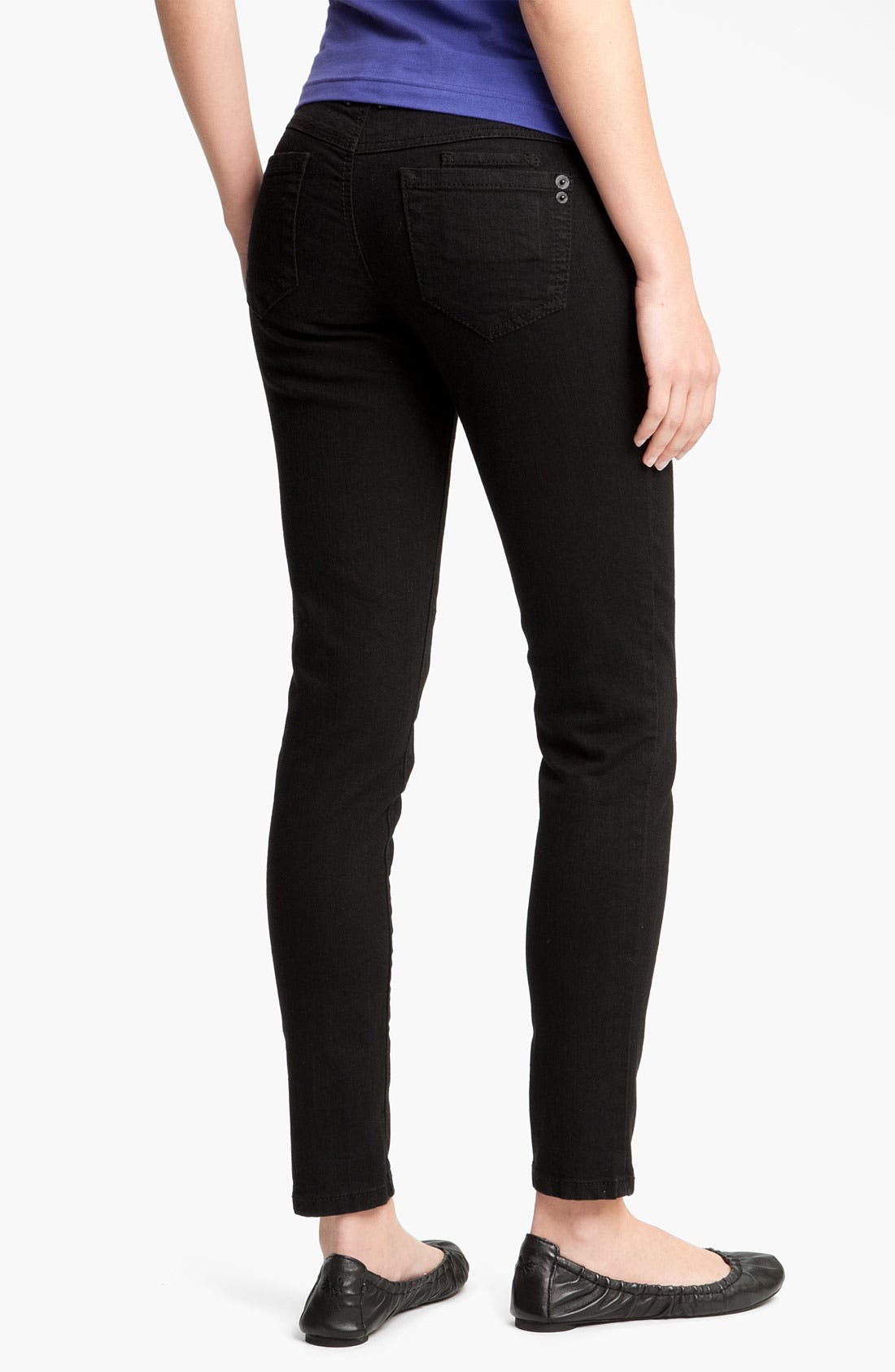 Stretch Skinny Jeans, Main, color, 002