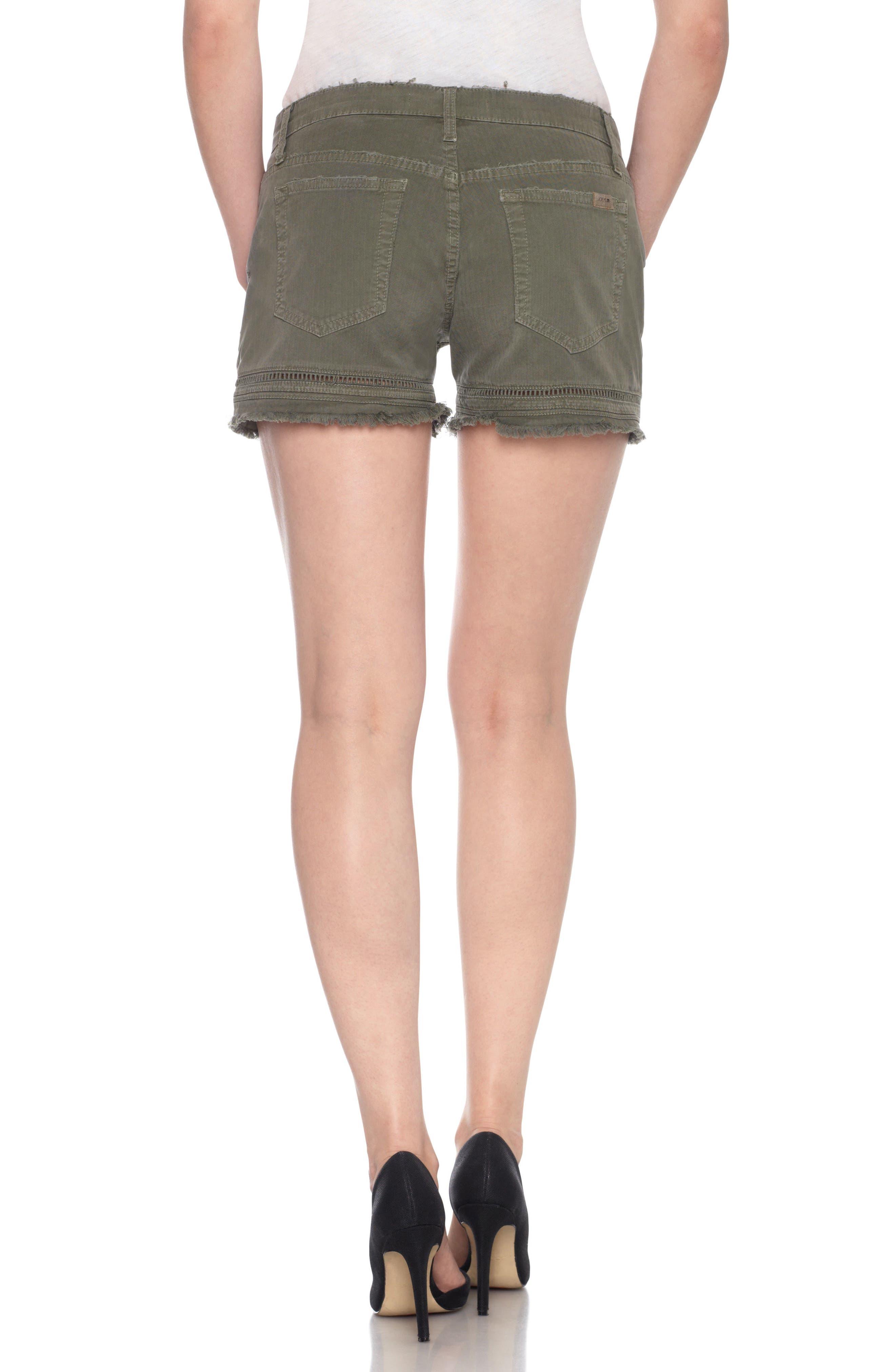 Ozzie Cutoff Denim Shorts,                             Alternate thumbnail 2, color,                             300
