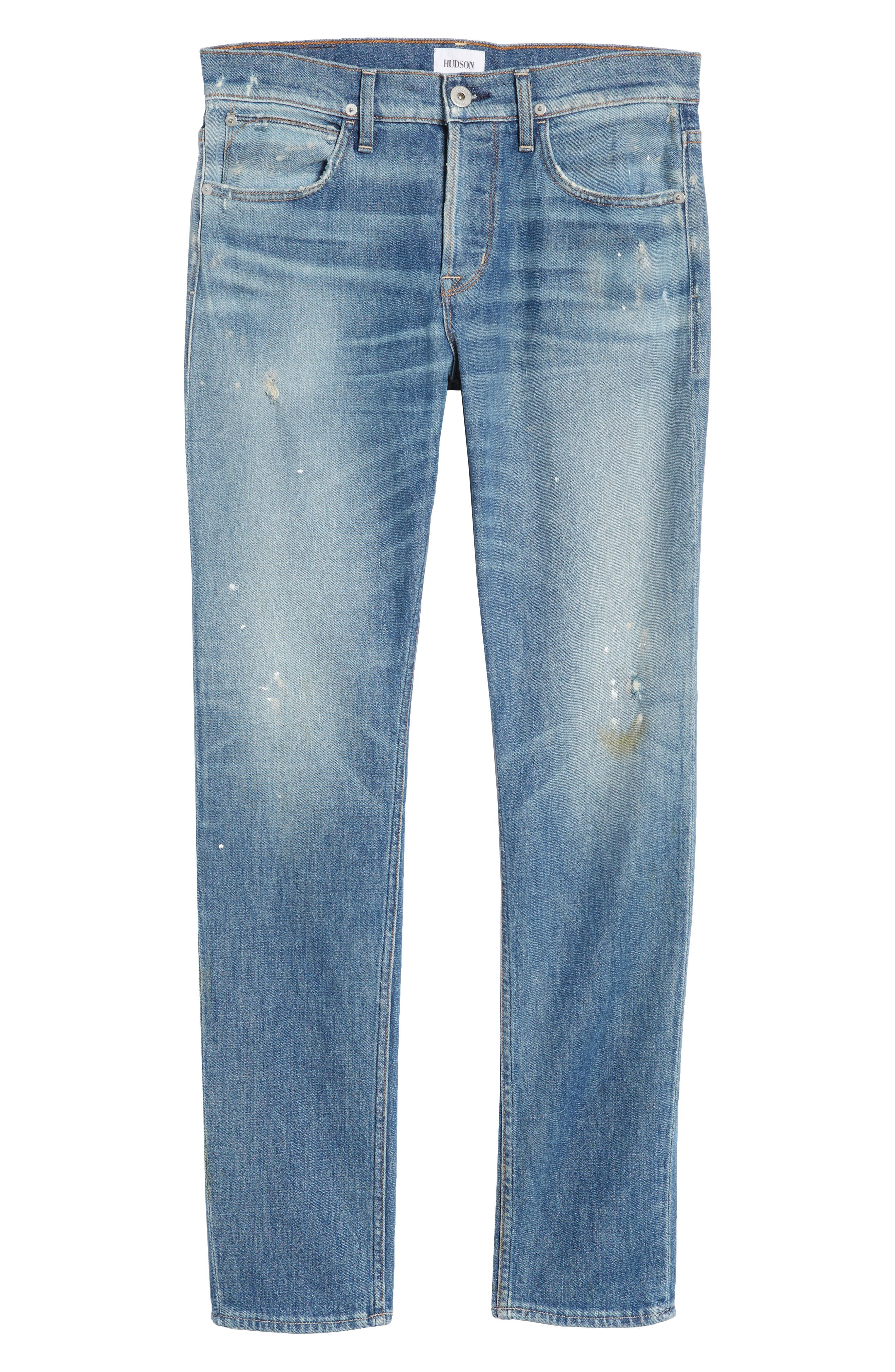 Axl Skinny Fit Jeans,                             Alternate thumbnail 6, color,                             450