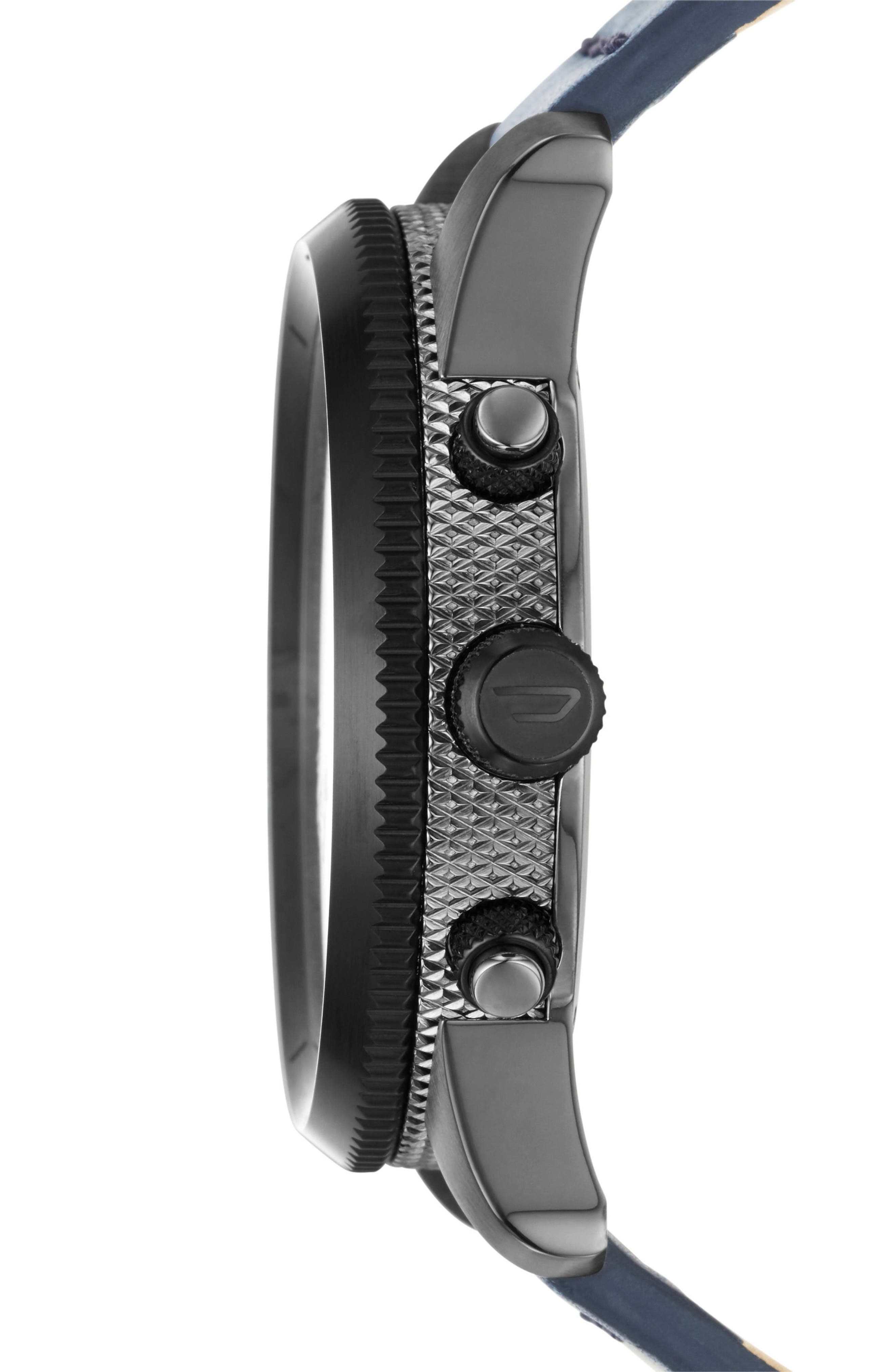 The Rasp Chronograph Leather Strap Watch, 46mm,                             Alternate thumbnail 2, color,