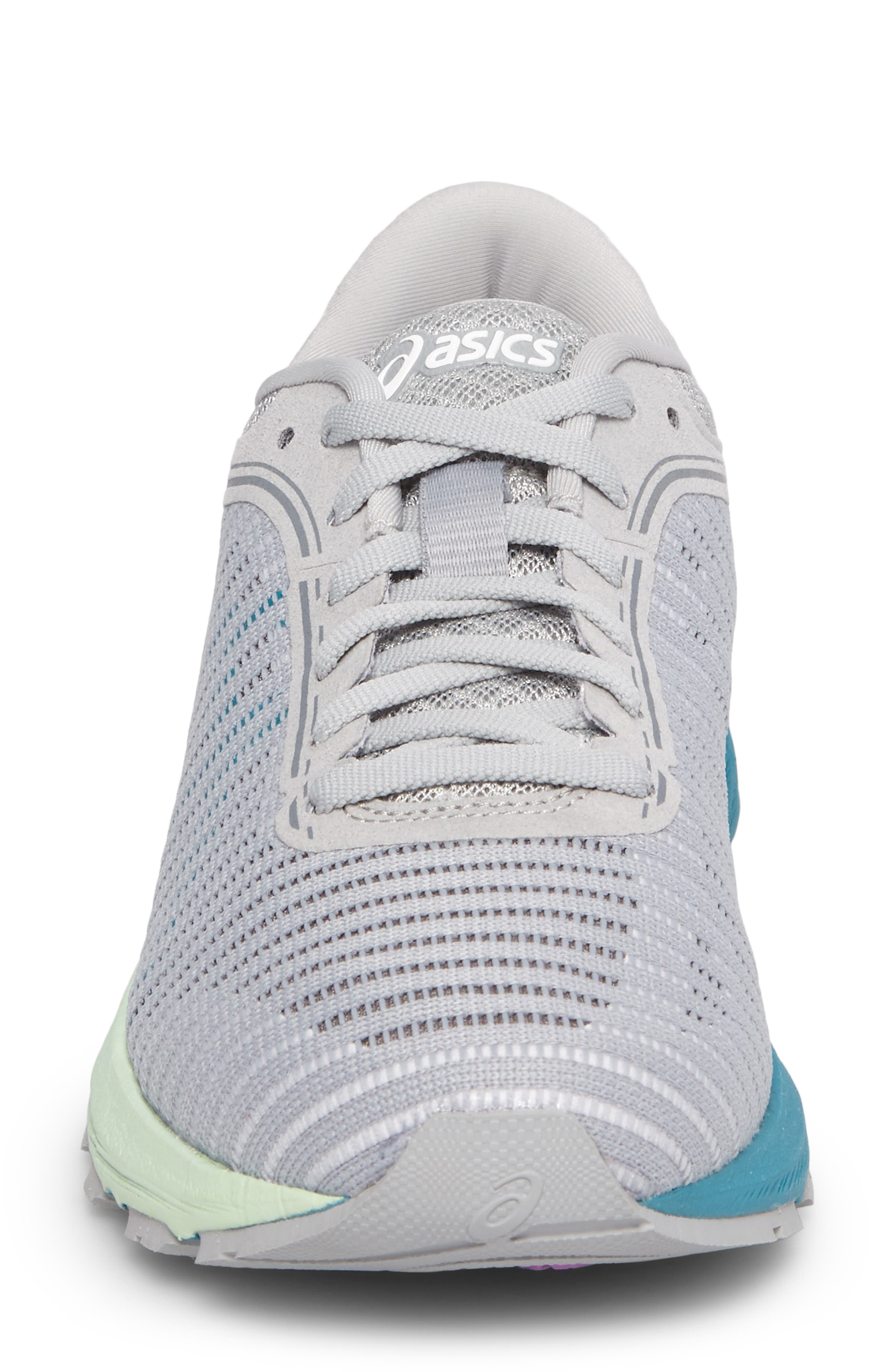 DynaFlyte 2 Running Shoe,                             Alternate thumbnail 4, color,                             MID GREY/ AQUA/ GLACIER