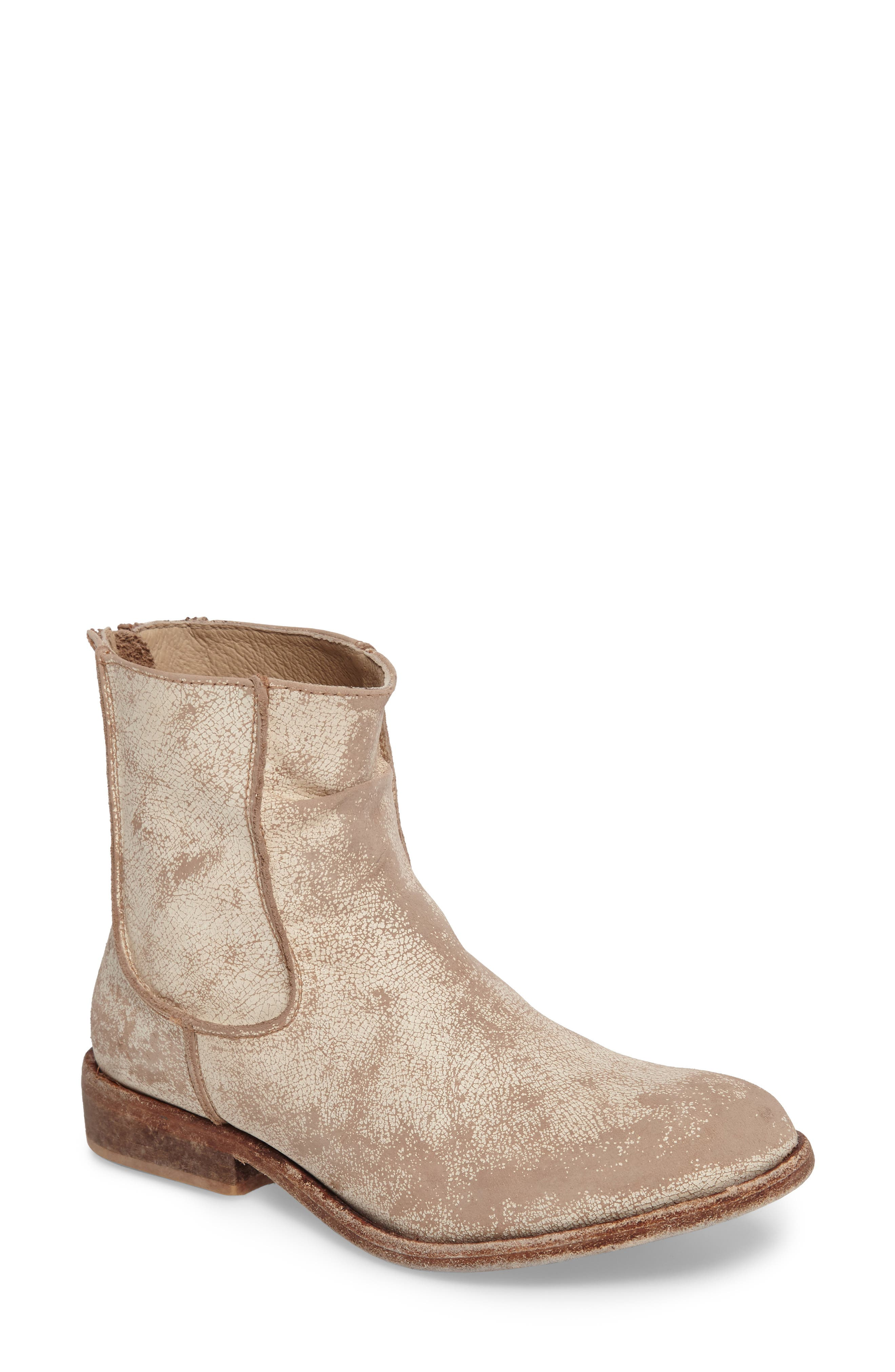 'Gerald' Distressed Bootie,                             Main thumbnail 2, color,