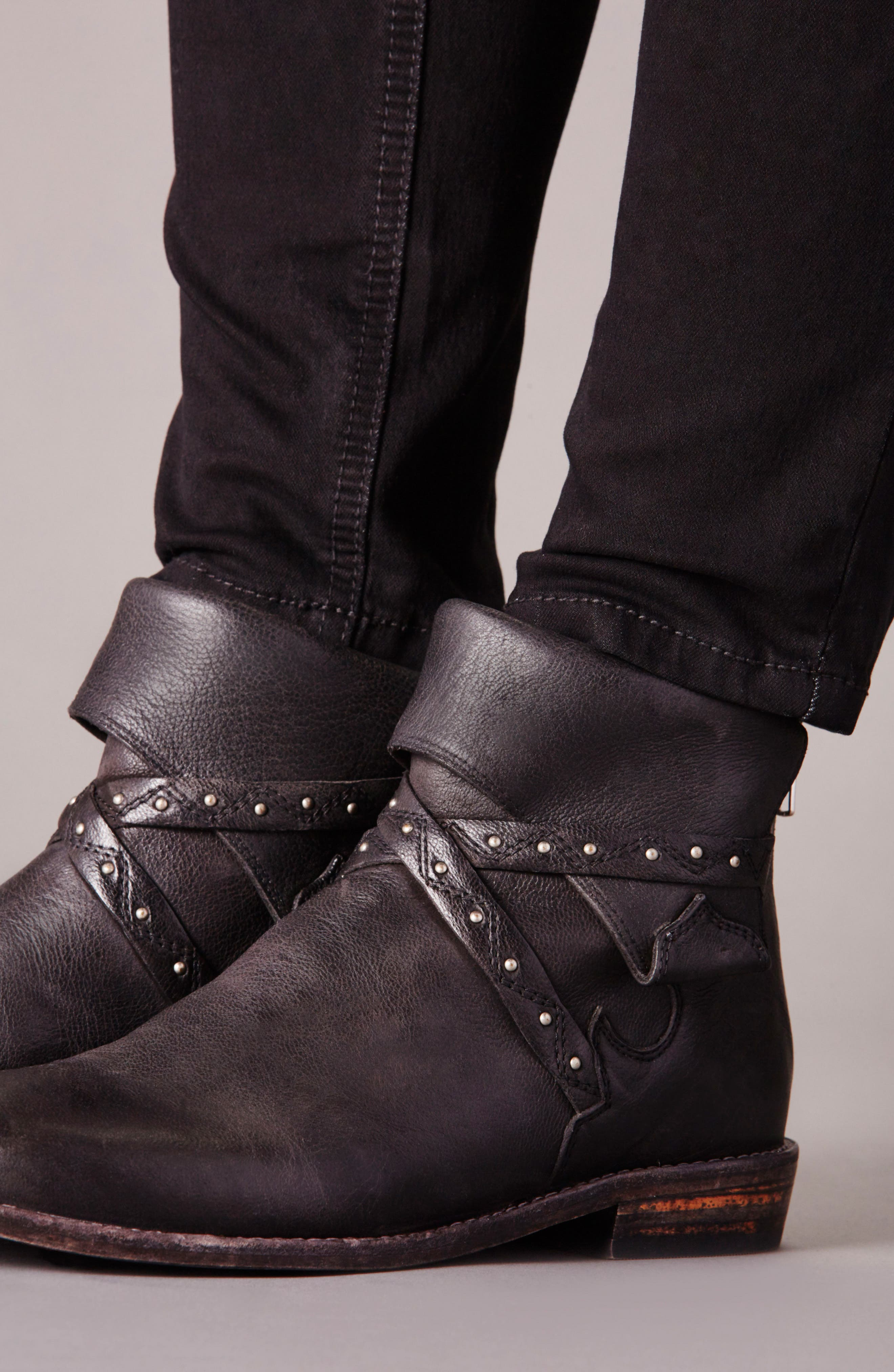Alamosa Slouchy Bootie,                             Alternate thumbnail 7, color,                             001