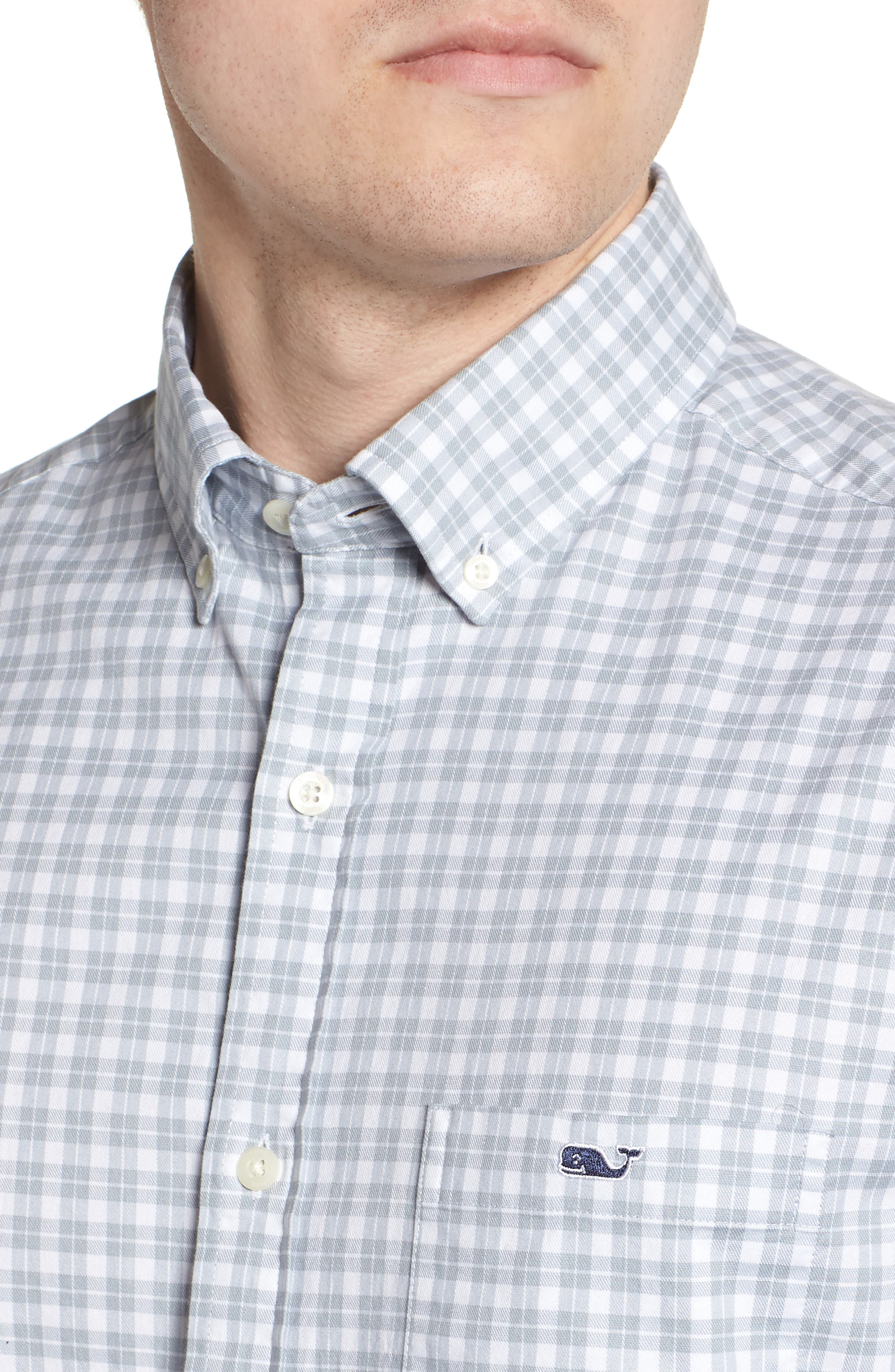 Eagle Hill Classic Fit Check Sport Shirt,                             Alternate thumbnail 2, color,                             034