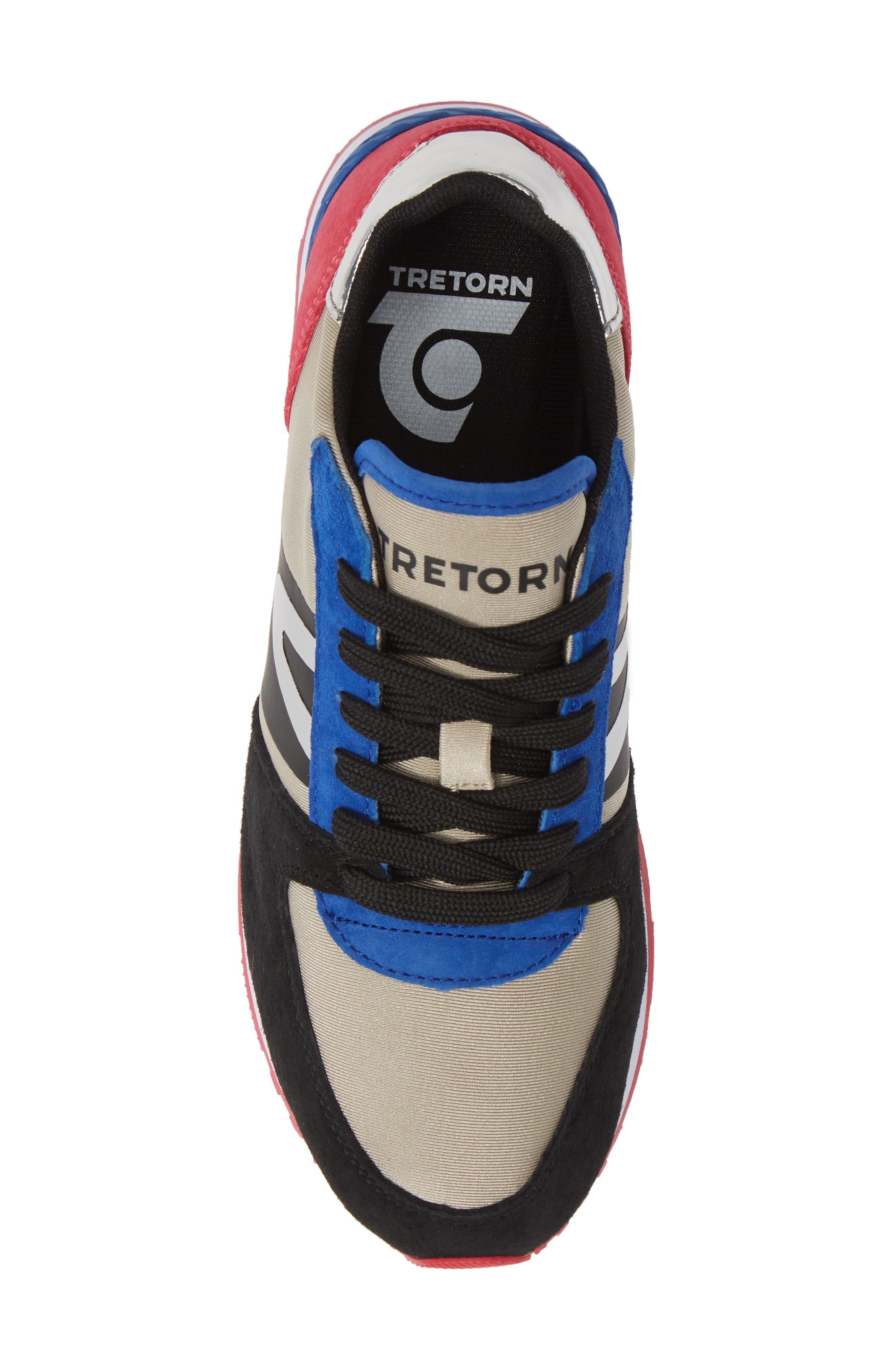 TRETORN,                             Loyola3 Sneaker,                             Alternate thumbnail 5, color,                             GLACIER GREY/ MARSHMALLOW
