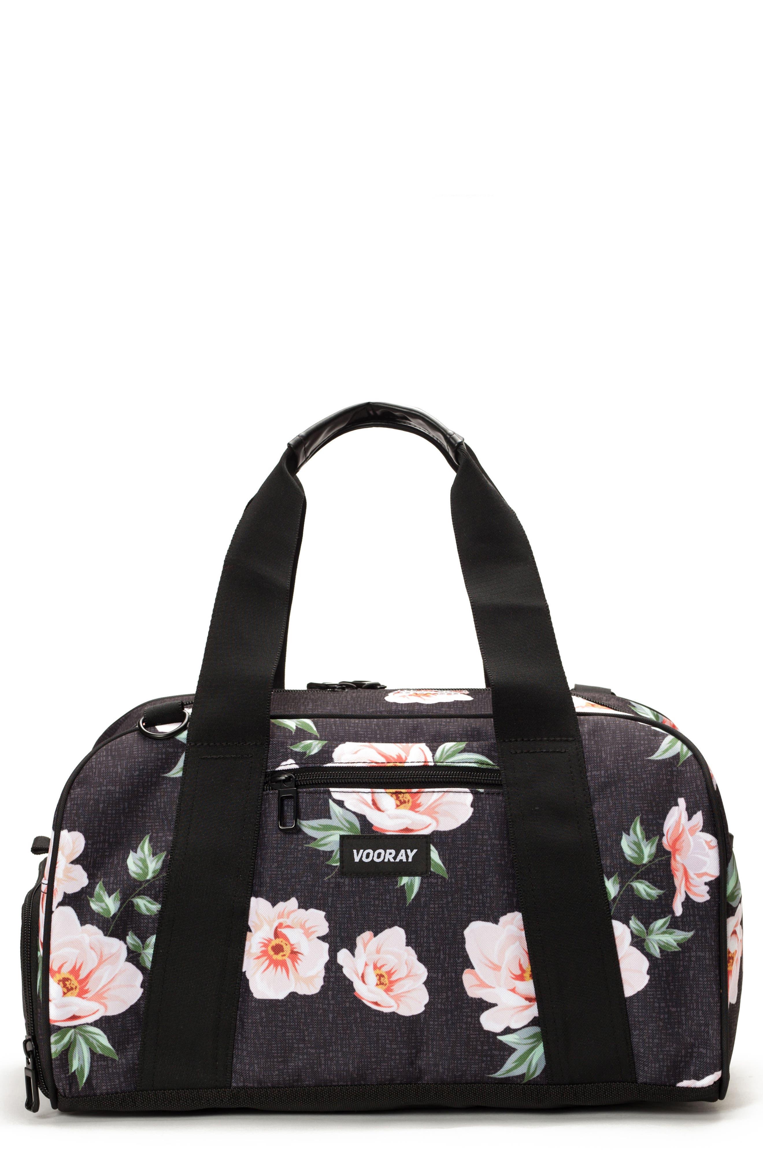 Burner Gym Bag,                         Main,                         color, ROSE BLACK