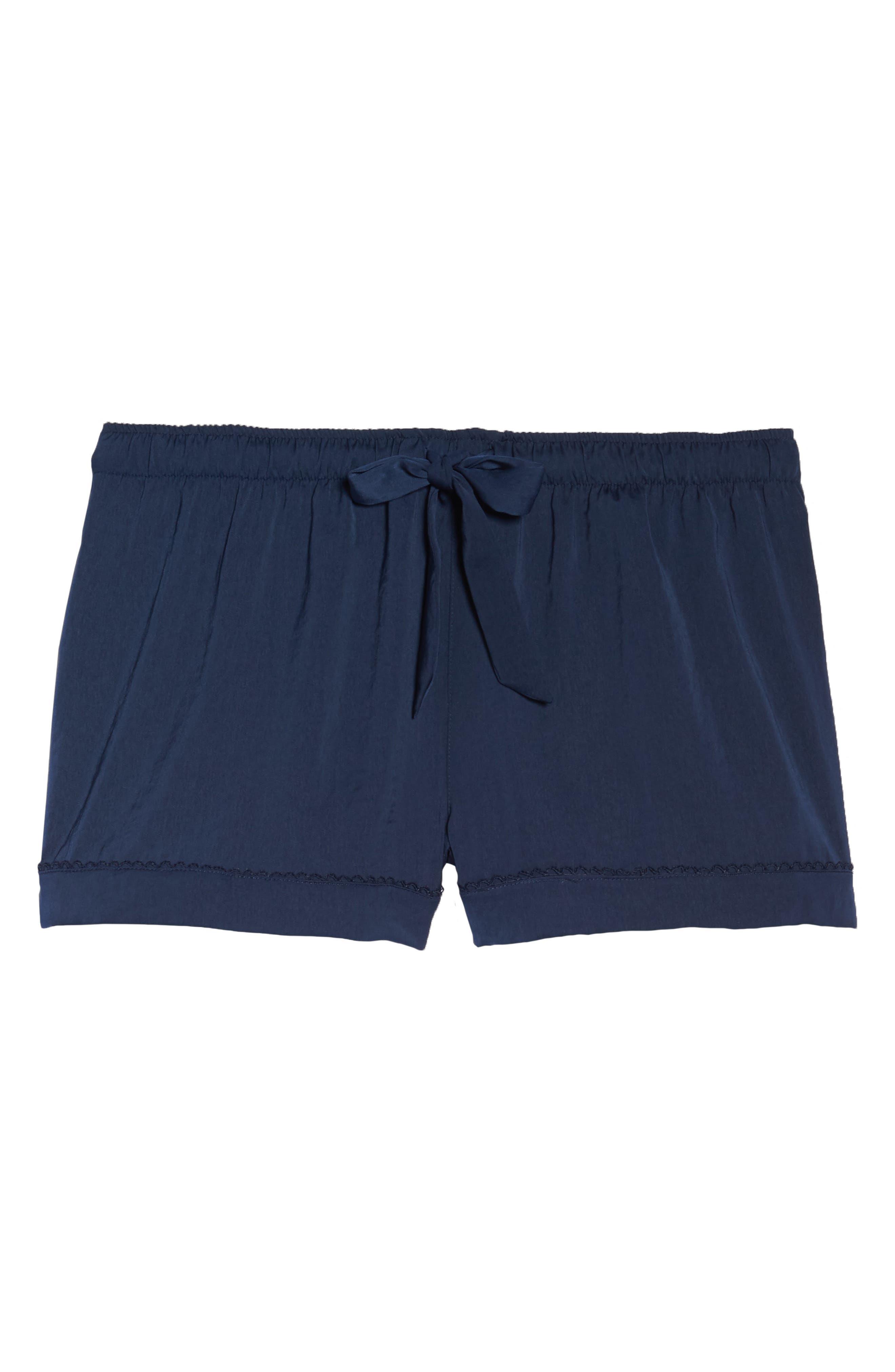 Pajama Shorts,                             Alternate thumbnail 6, color,                             400