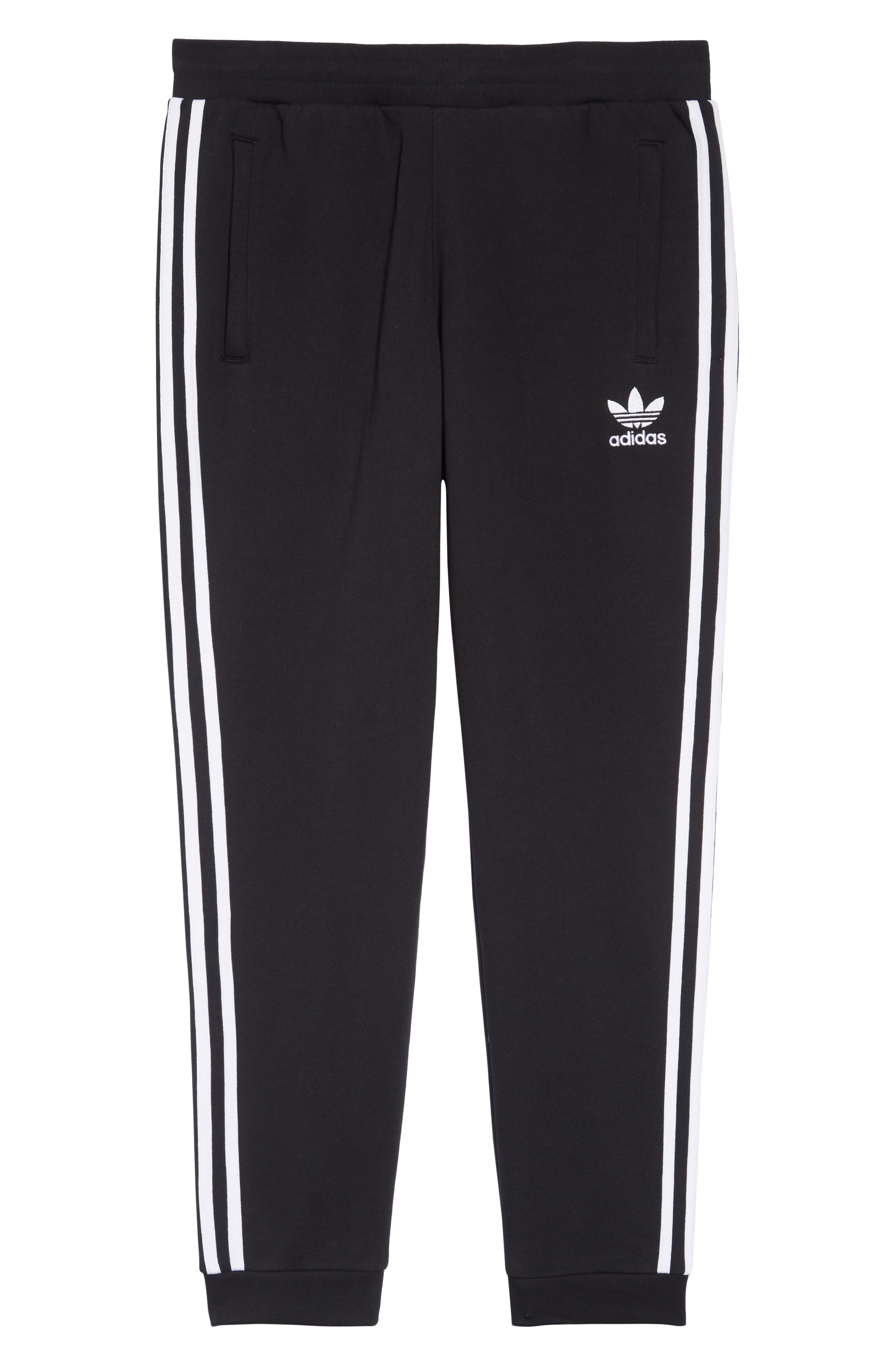 Adicolor Track Pants,                             Alternate thumbnail 6, color,                             BLACK