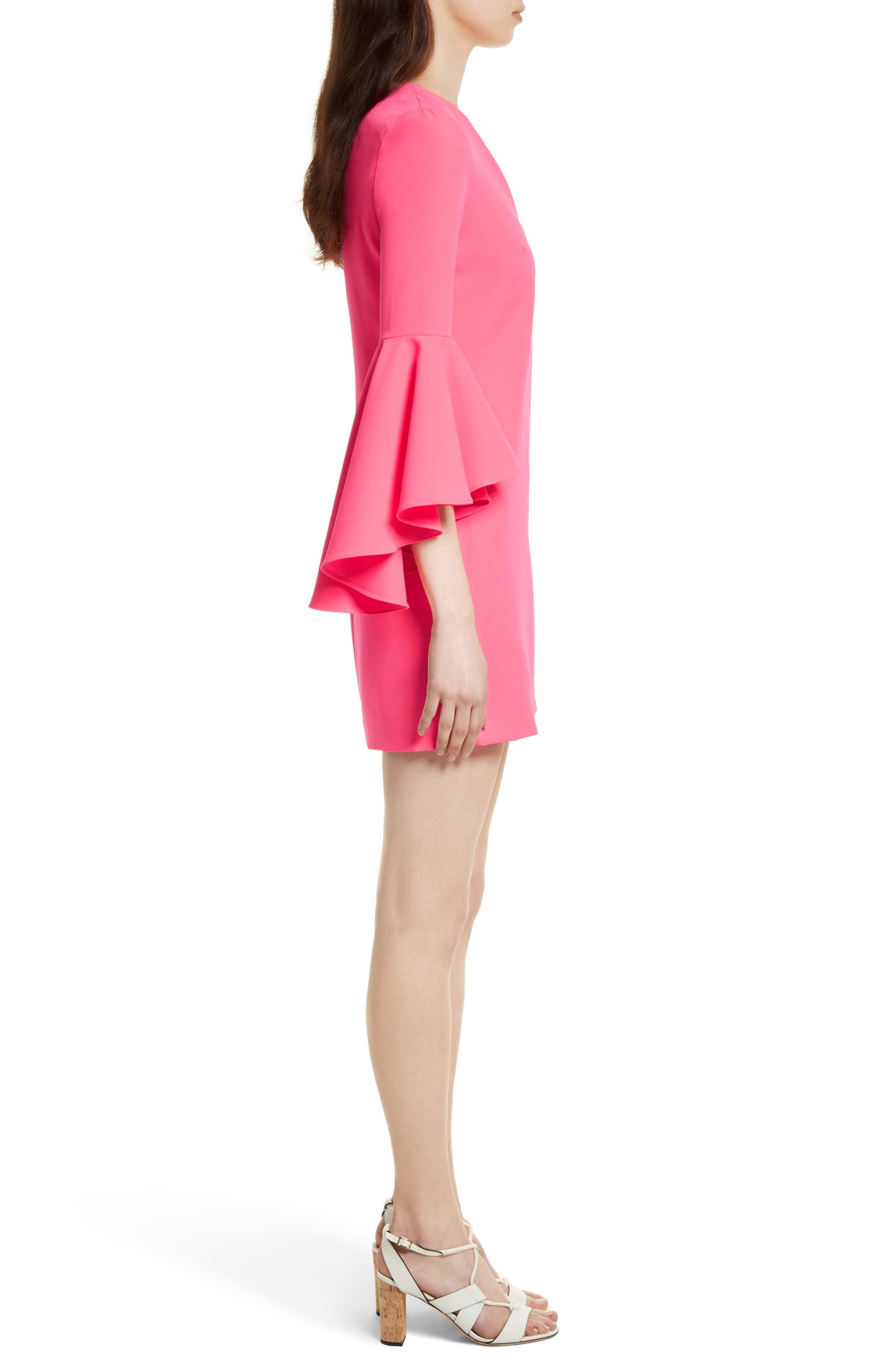 Nicole Bell Sleeve Dress,                             Alternate thumbnail 42, color,