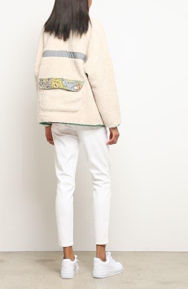 Bayside Floral Trim Fleece Jacket, video thumbnail