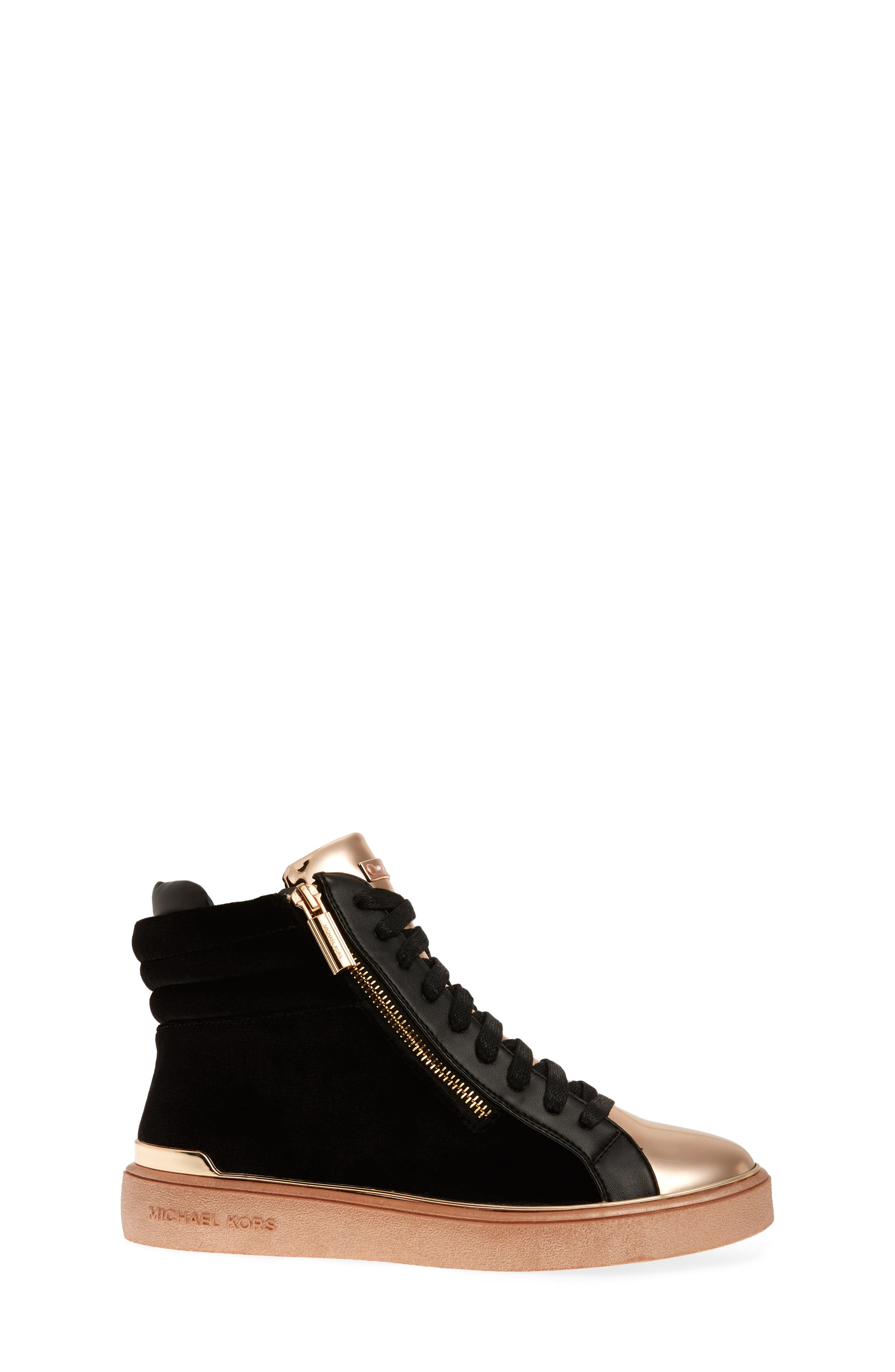 Ivy Blue High Top Sneaker,                             Alternate thumbnail 5, color,