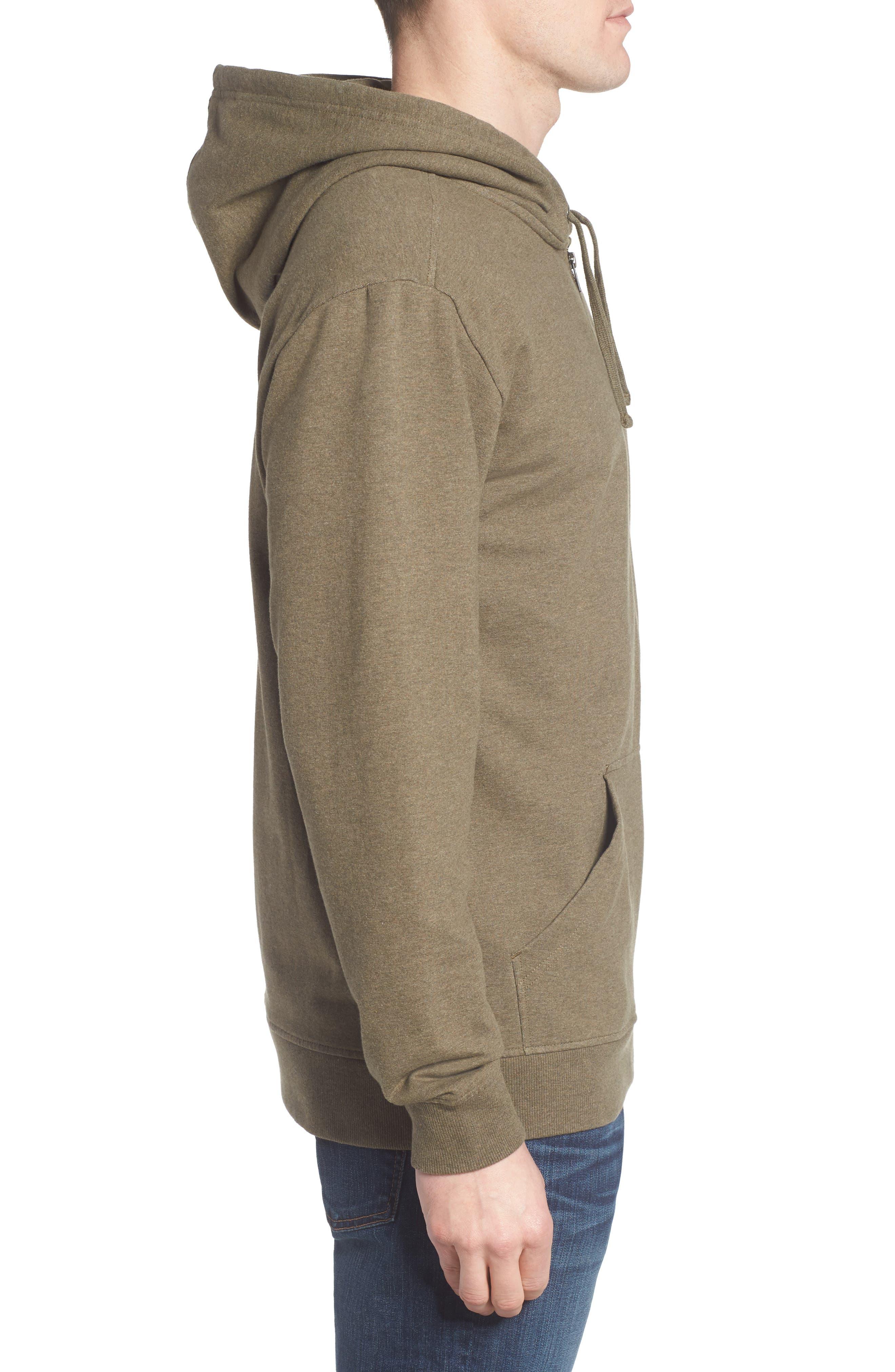 P-6 Logo Modern Fit Zip Hoodie,                             Alternate thumbnail 9, color,